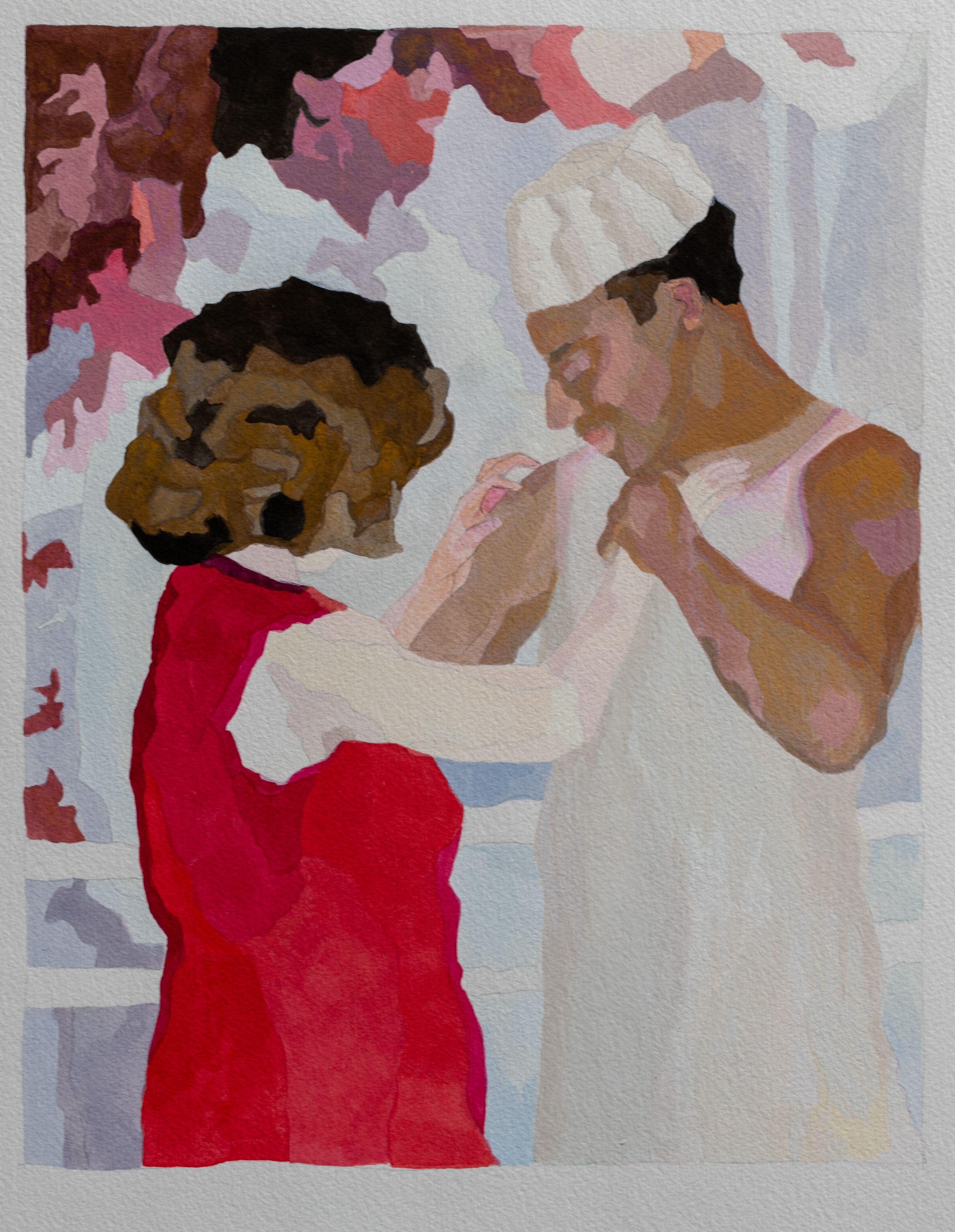 RUTH OWENS, Last Dance (study), 2018