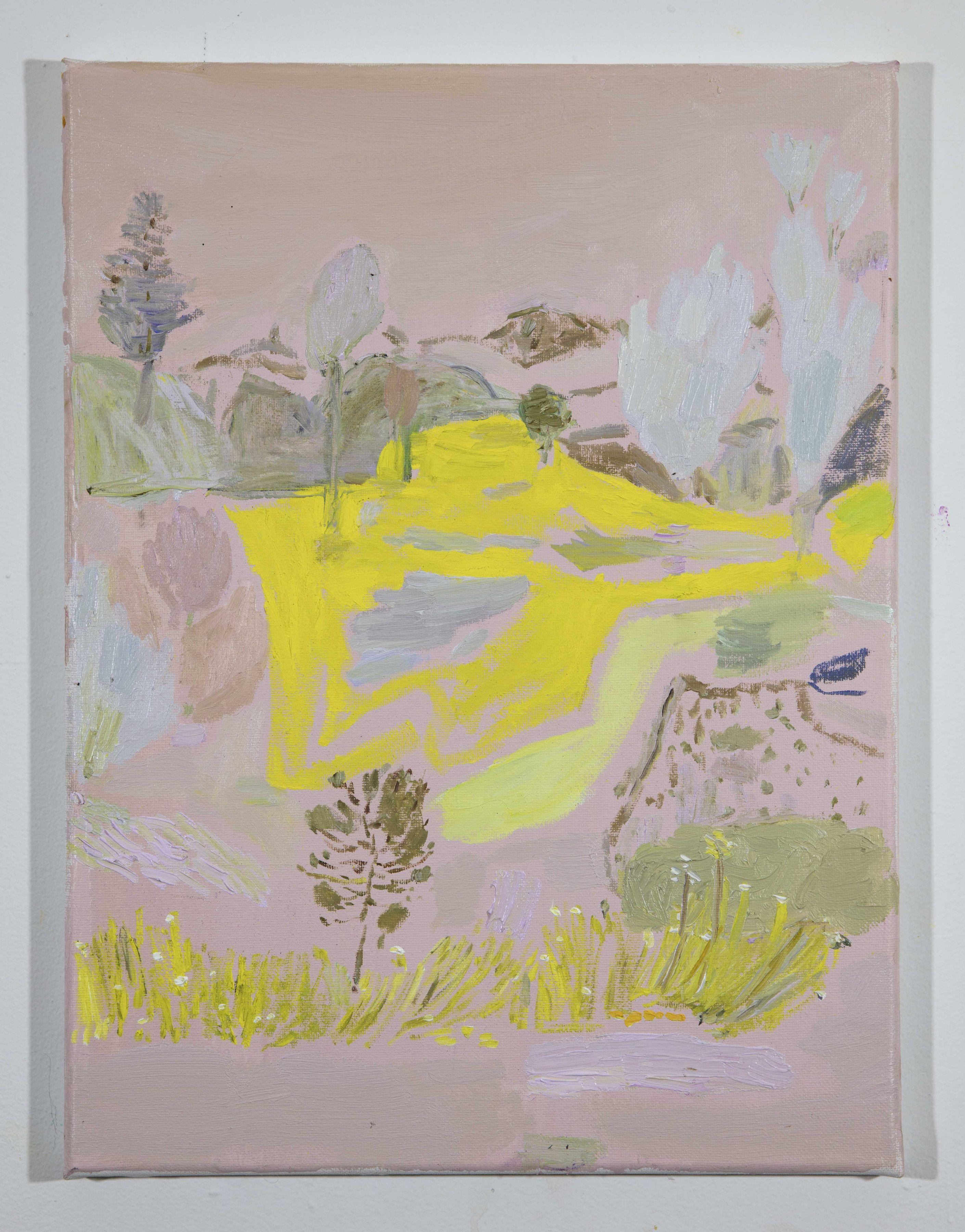 LISA SANDITZ, Landscape Color Study 9, 2019