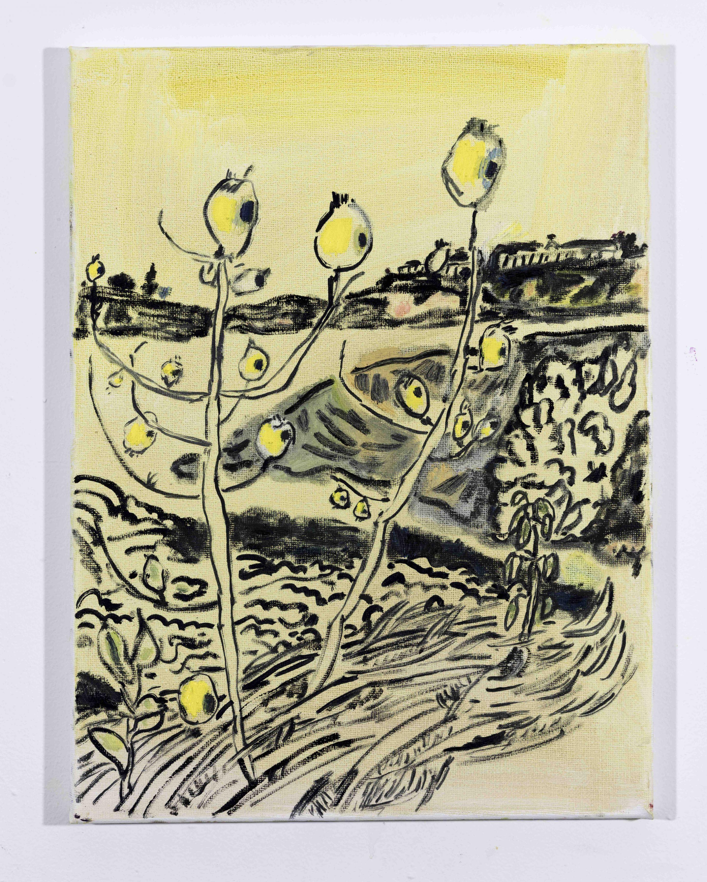 LISA SANDITZ, Landscape Color Study 20, 2019