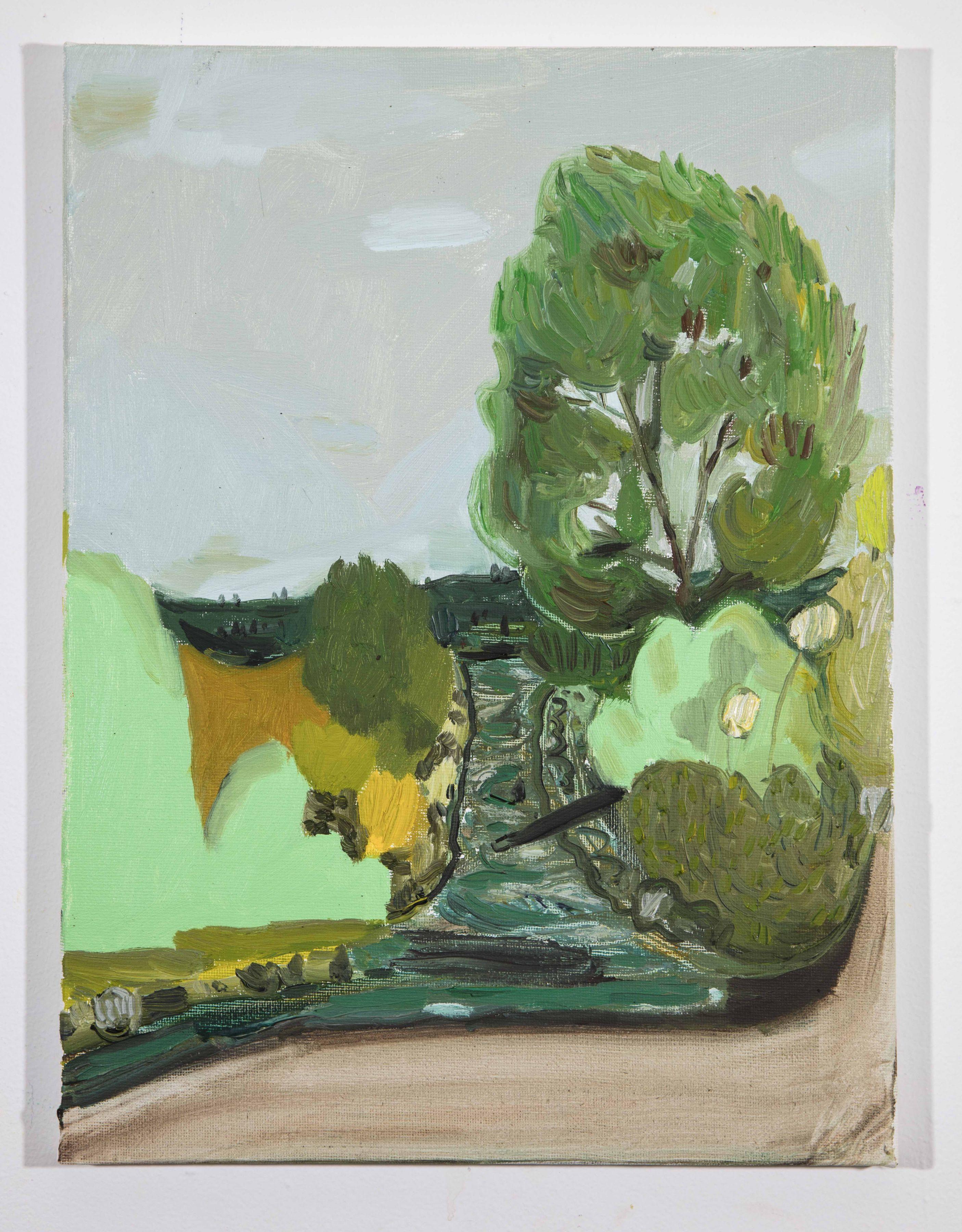 LISA SANDITZ, Landscape Color Study 7, 2019