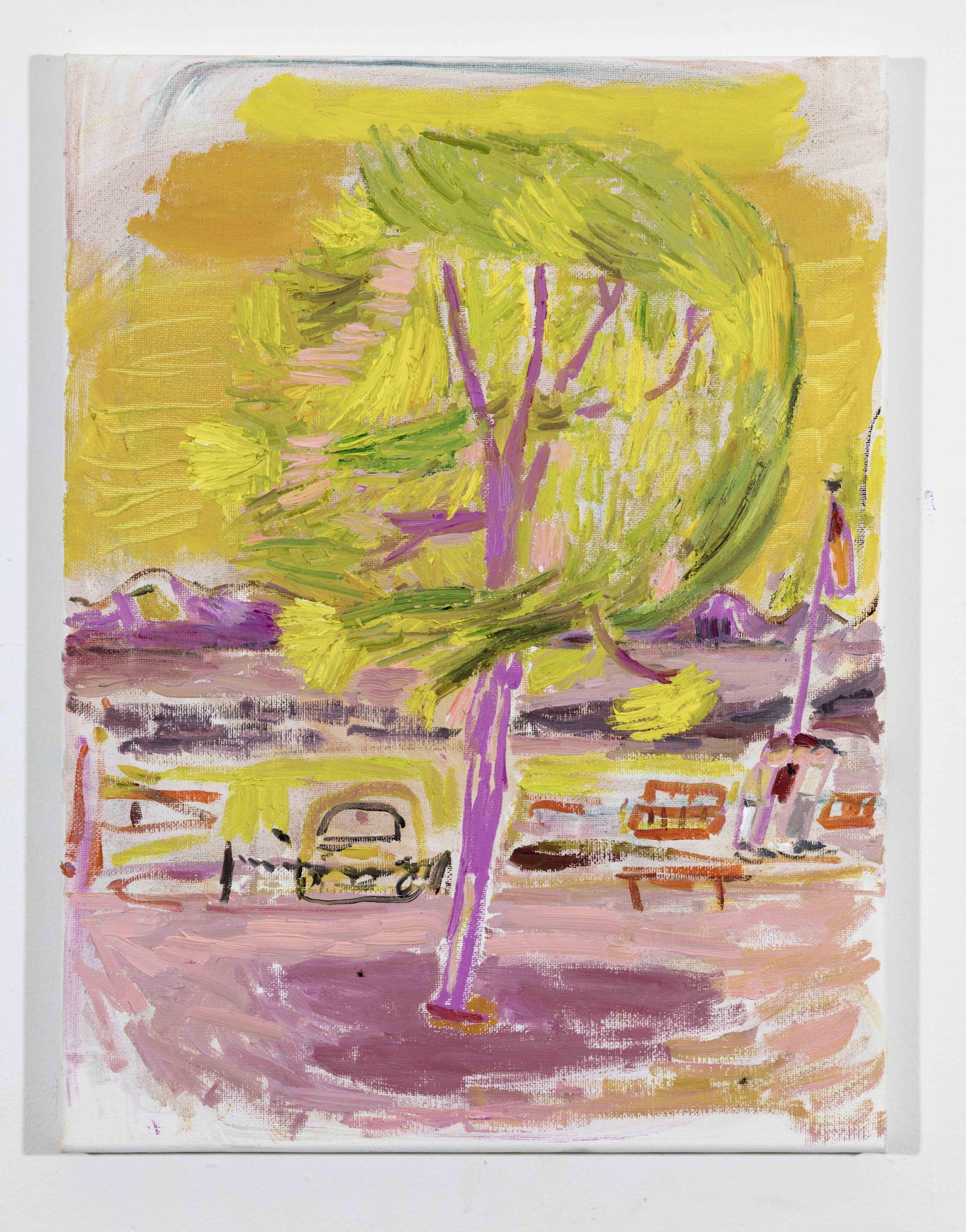 LISA SANDITZ, Landscape Color Study 5, 2019