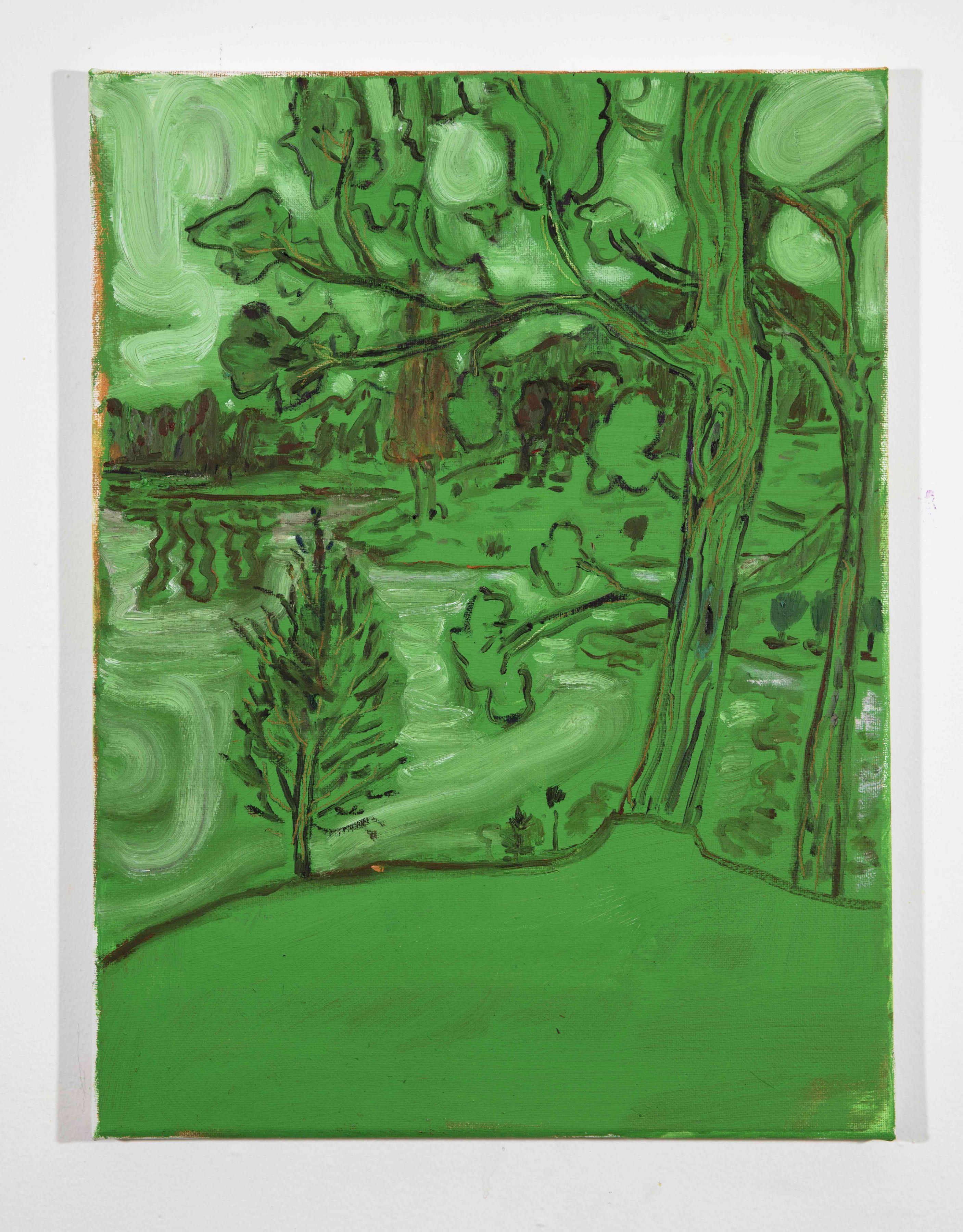 LISA SANDITZ, Landscape Color Study 17, 2019