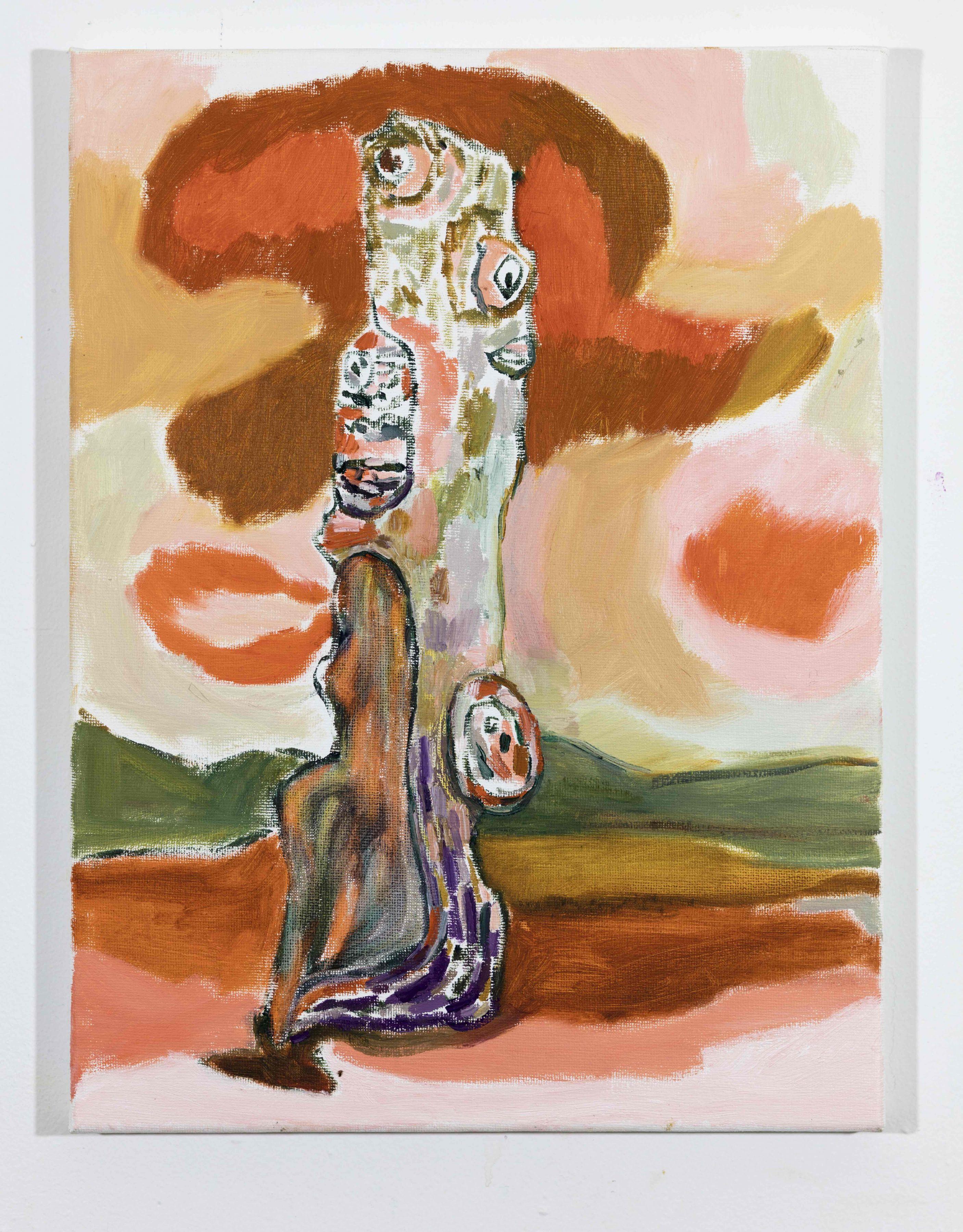 LISA SANDITZ, Landscape Color Study 12, 2019