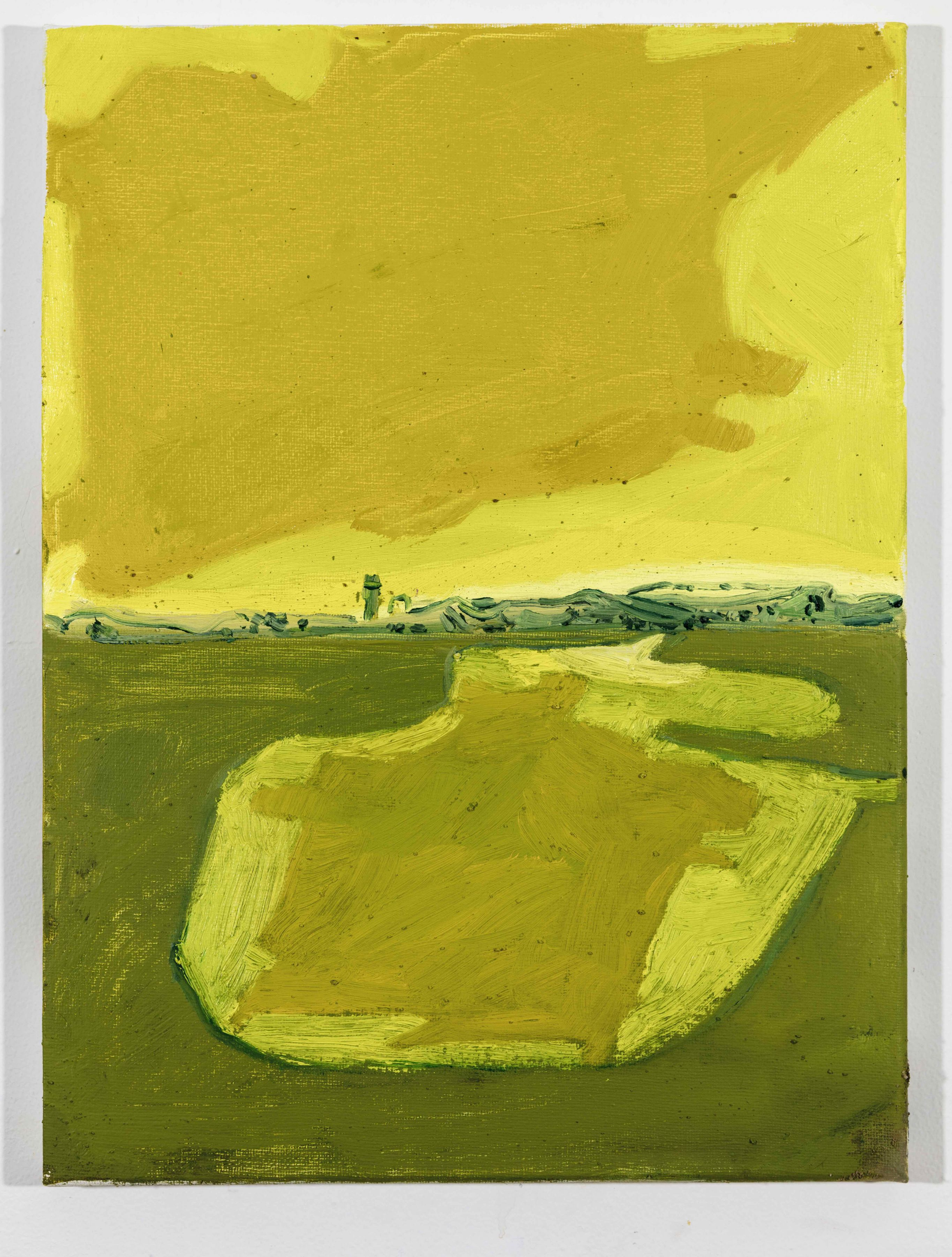LISA SANDITZ, Landscape Color Study 25, 2019