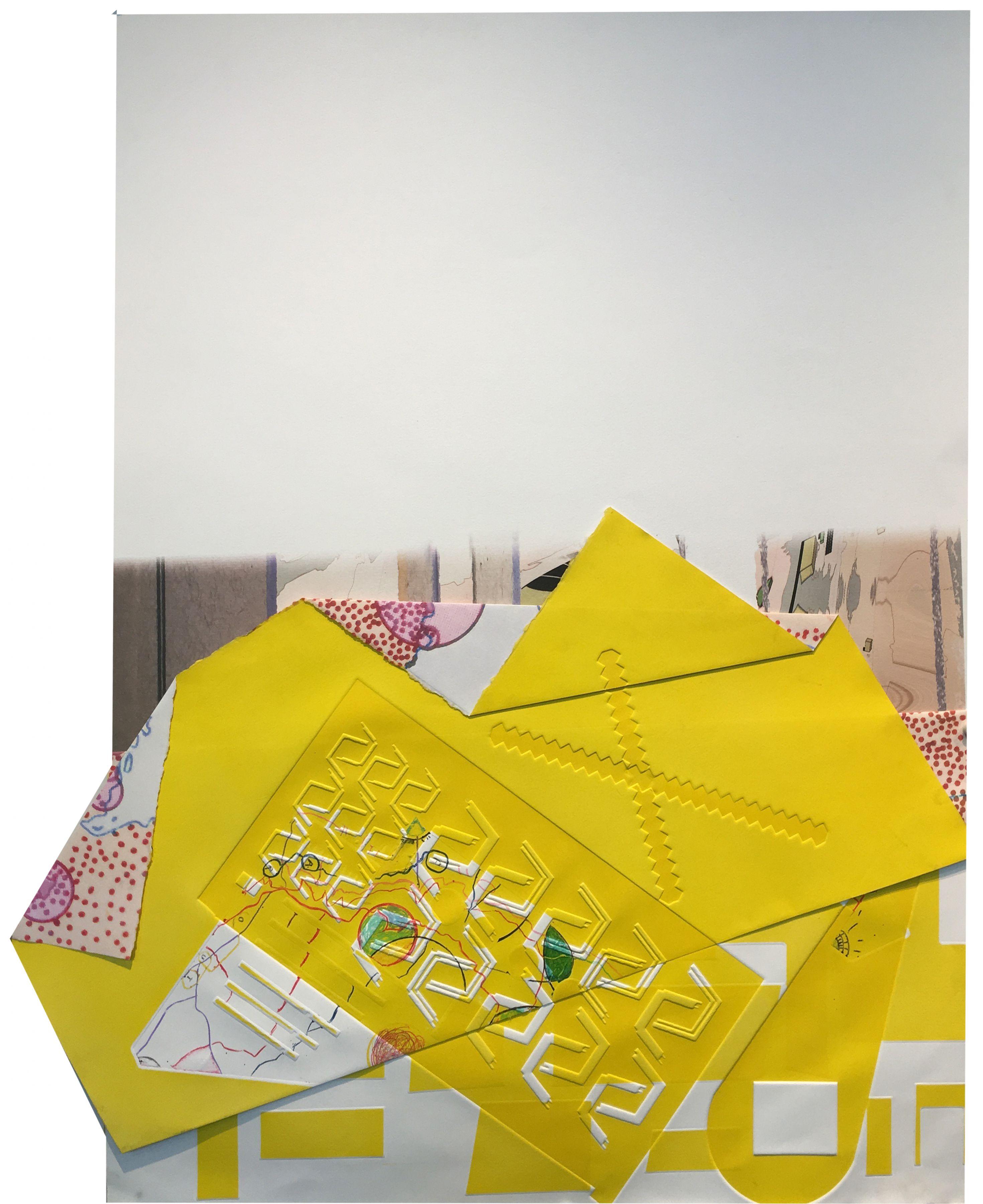 CARMON COLANGELO Yellow Slip, 2016