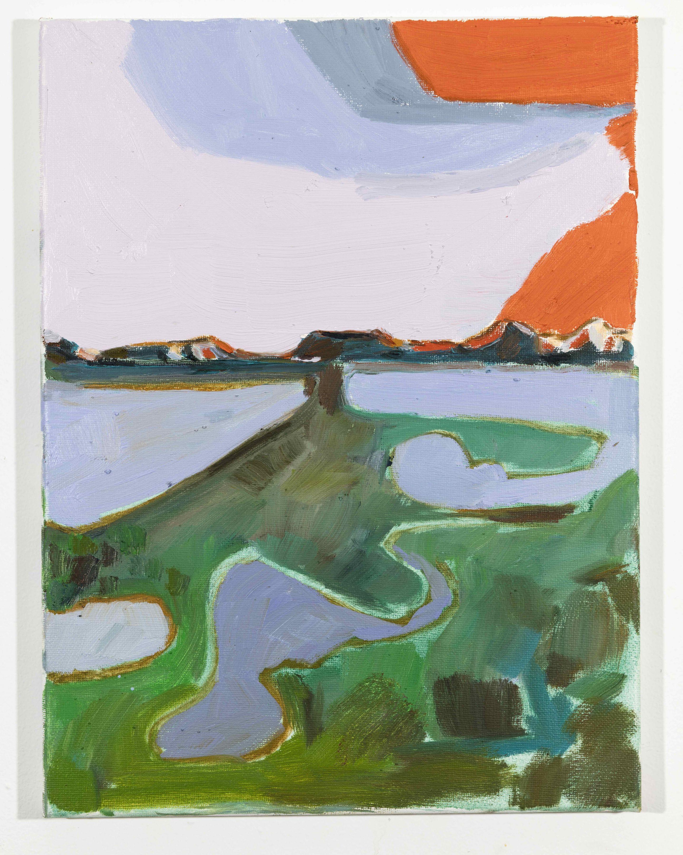 LISA SANDITZ, Landscape Color Study 24, 2019