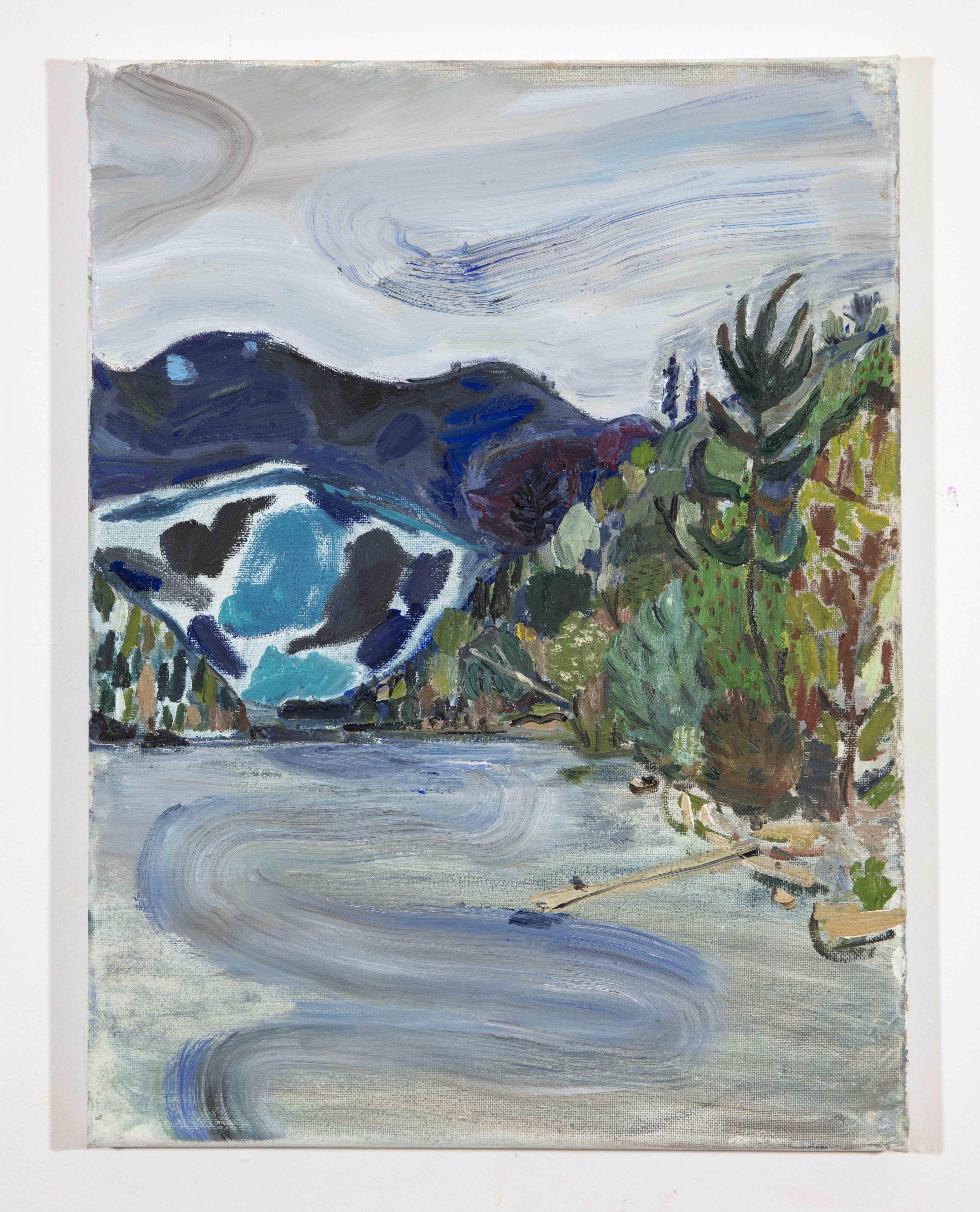 LISA SANDITZ, Landscape Color Study 11, 2019
