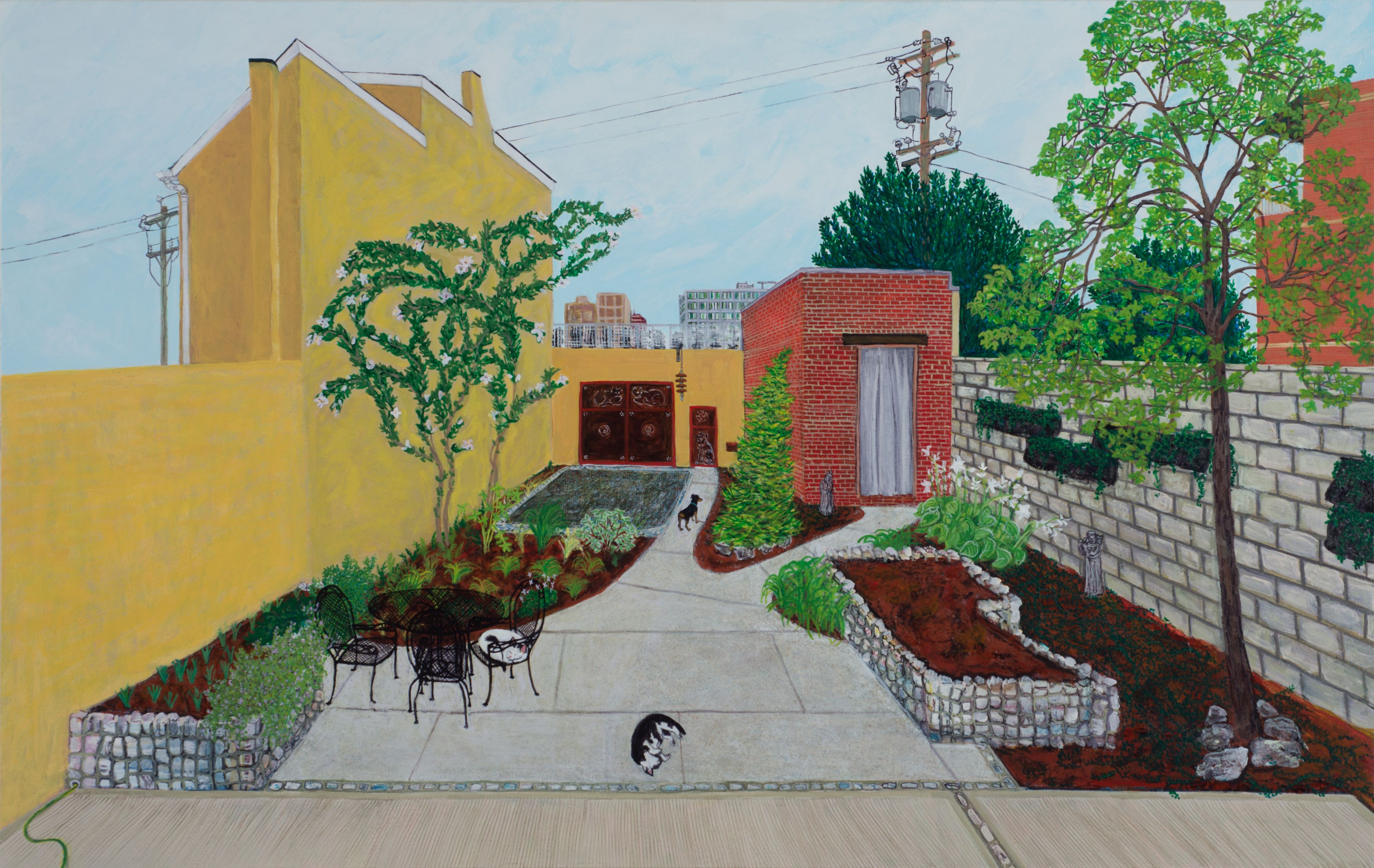 Sarah McEneaney, New Yard