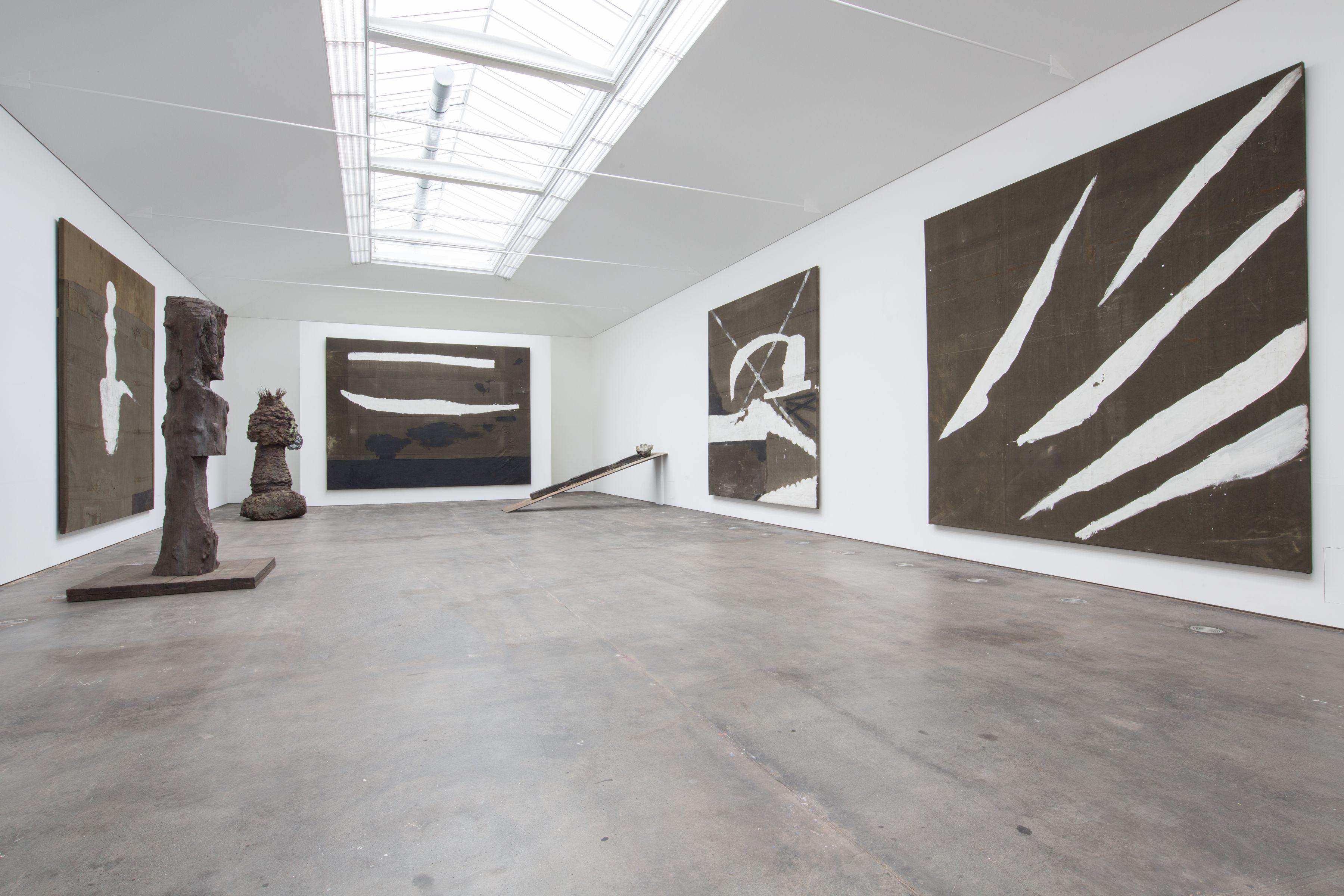 Installation view,Julian Schnabel, Hall Art Foundation | Schloss Derneburg Museum, Derneburg, Germany, 2017