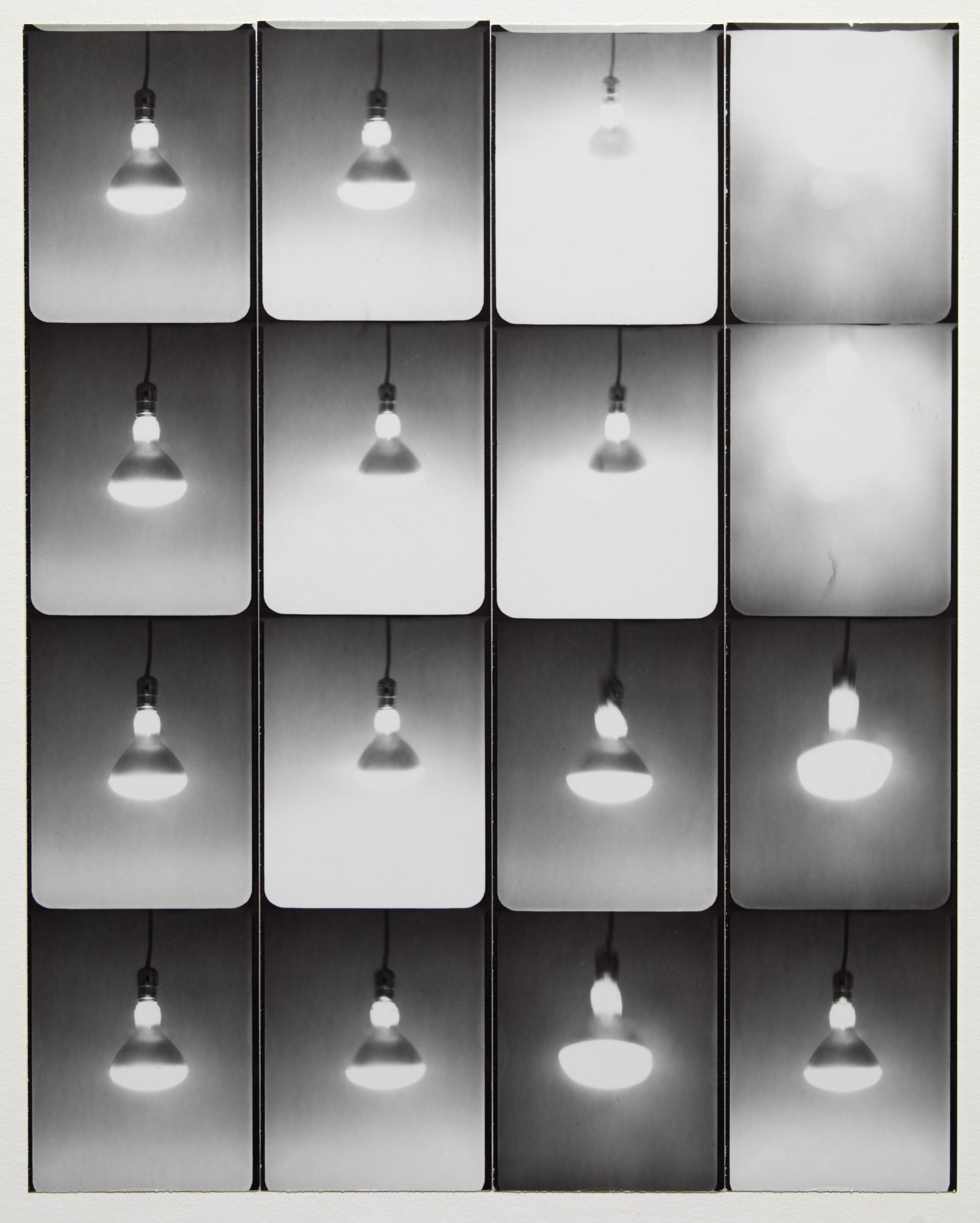 Jared Bark,Untitled, PB #1031, 1974. Vintage gelatin silver photobooth prints, 8 x 6 1/2 inches overall.