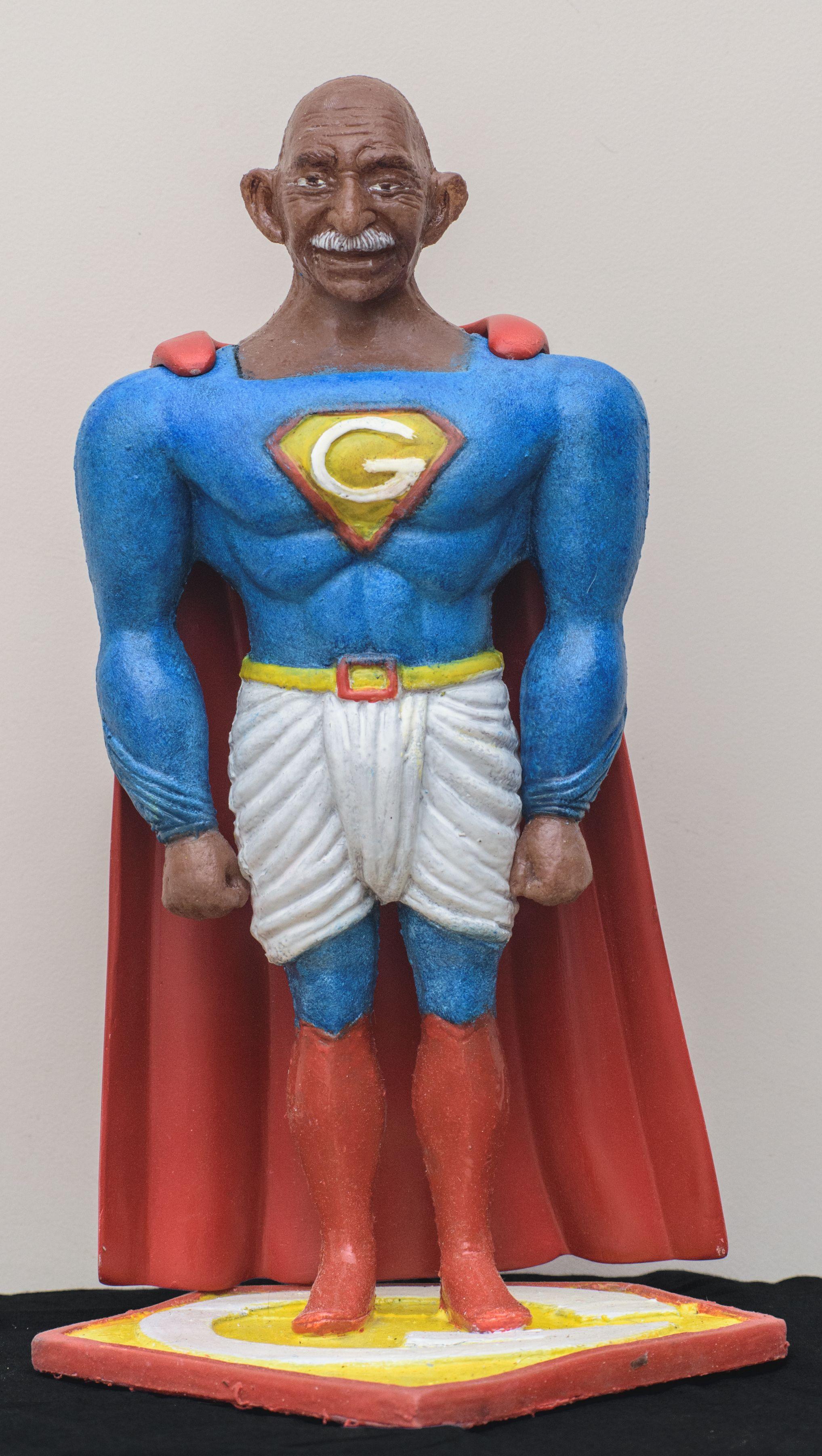 Toy Gandhi 4 (Small Superhero)