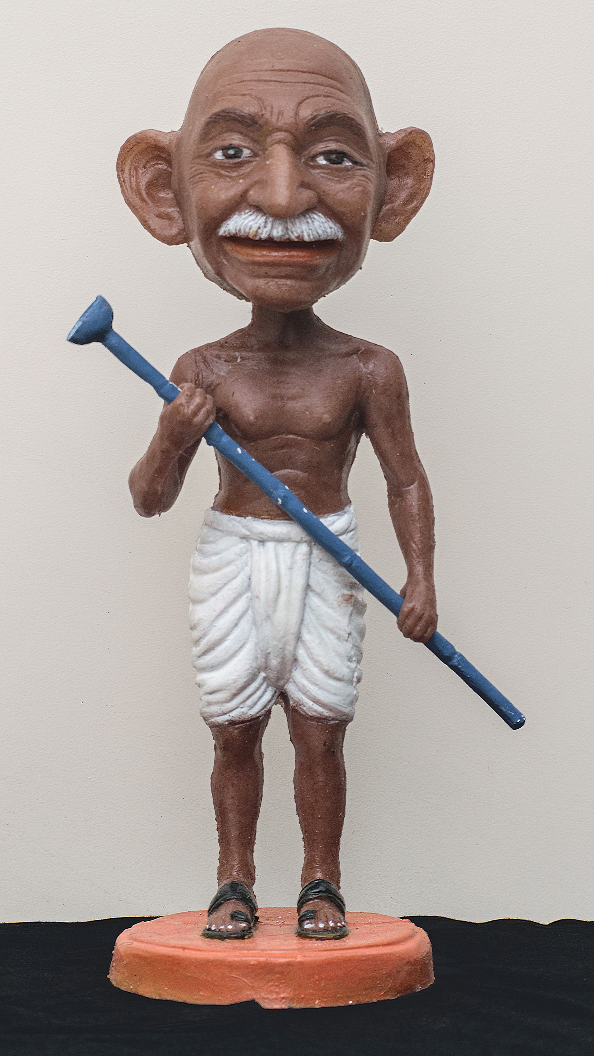 Toy Gandhi 7 (Small Bobble Head 2)