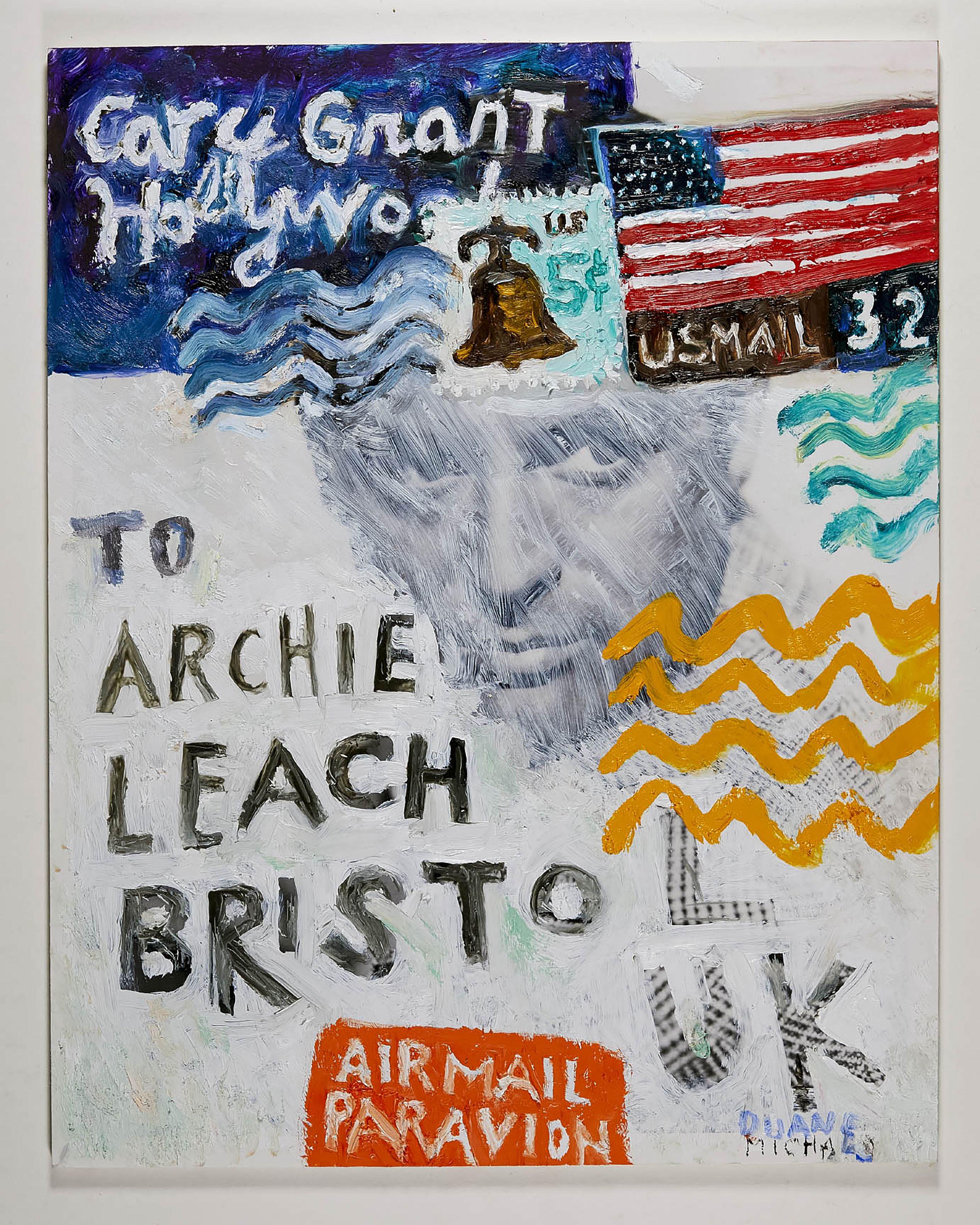 To Archie Leach, Bristol, UK, 2019