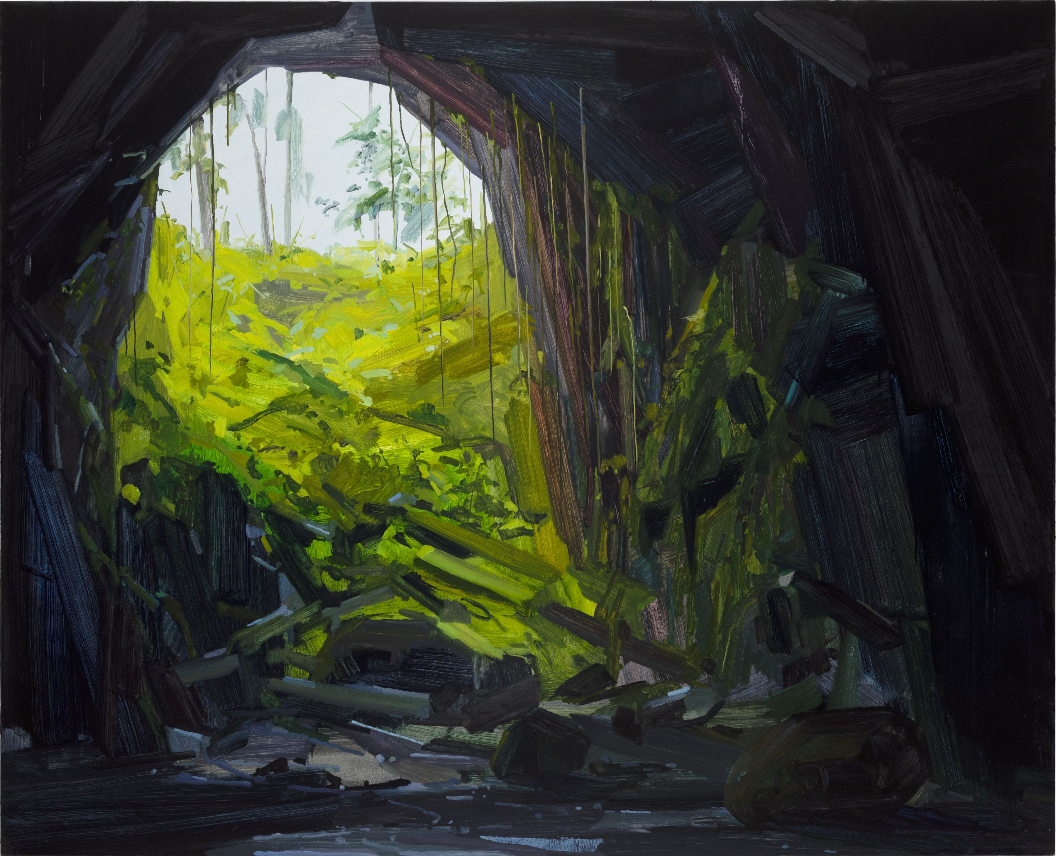 Cave, 2018 Oil on canvas