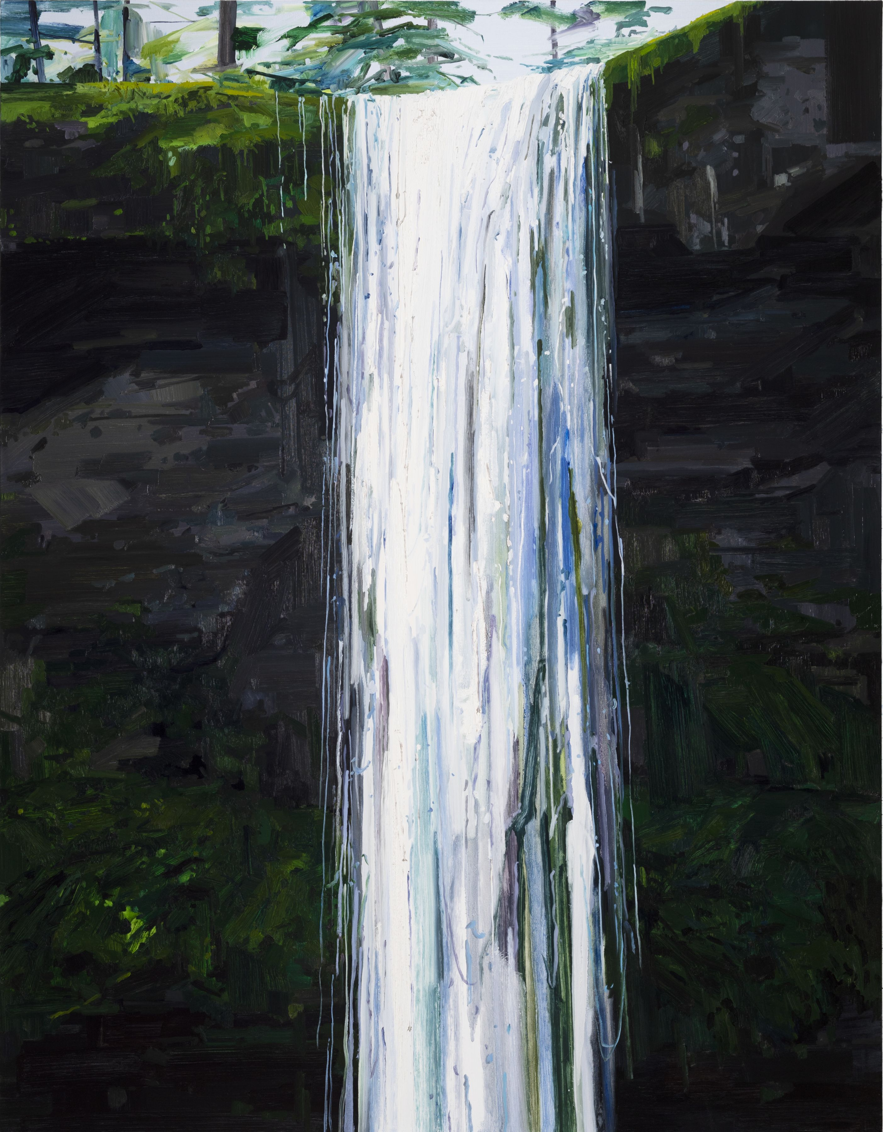 Waterfall, 2018 Oil on canvas