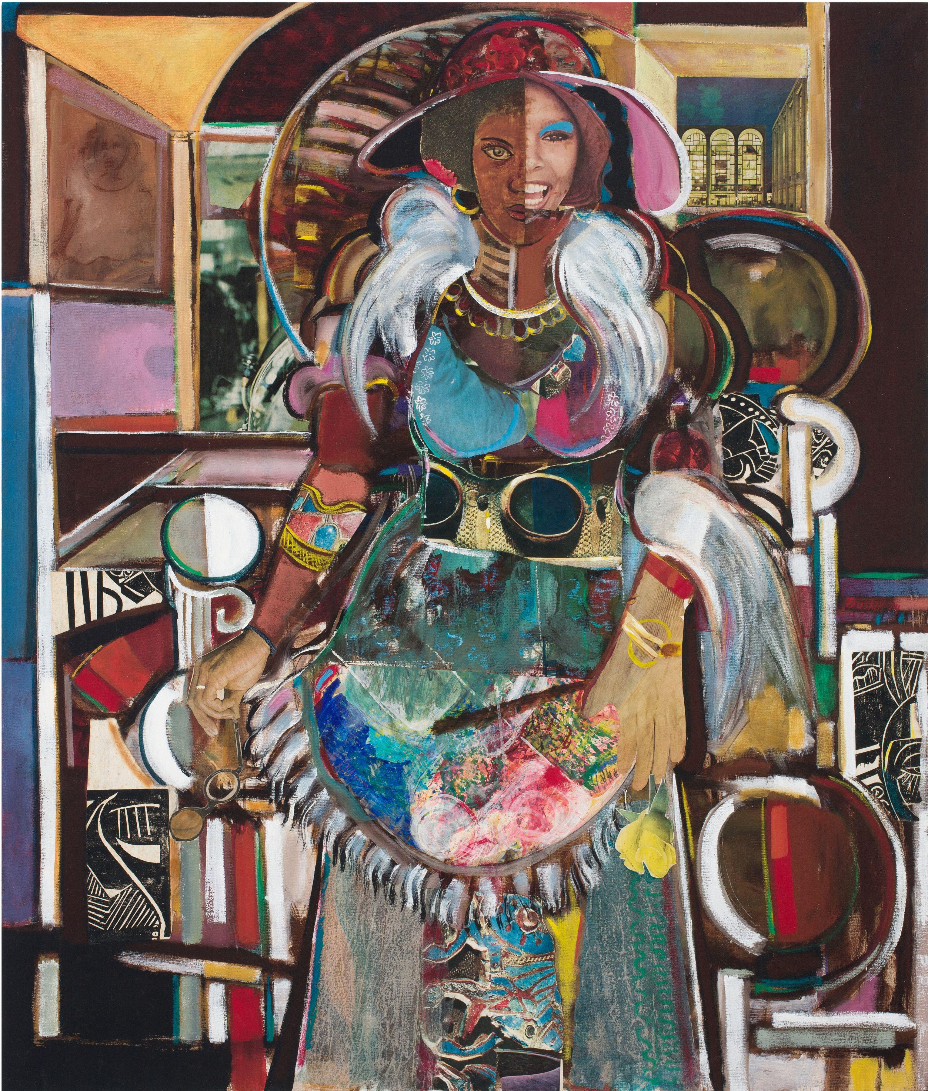 David Driskell, Jazz Dancer (Lady of Leisure, Fox), 1974