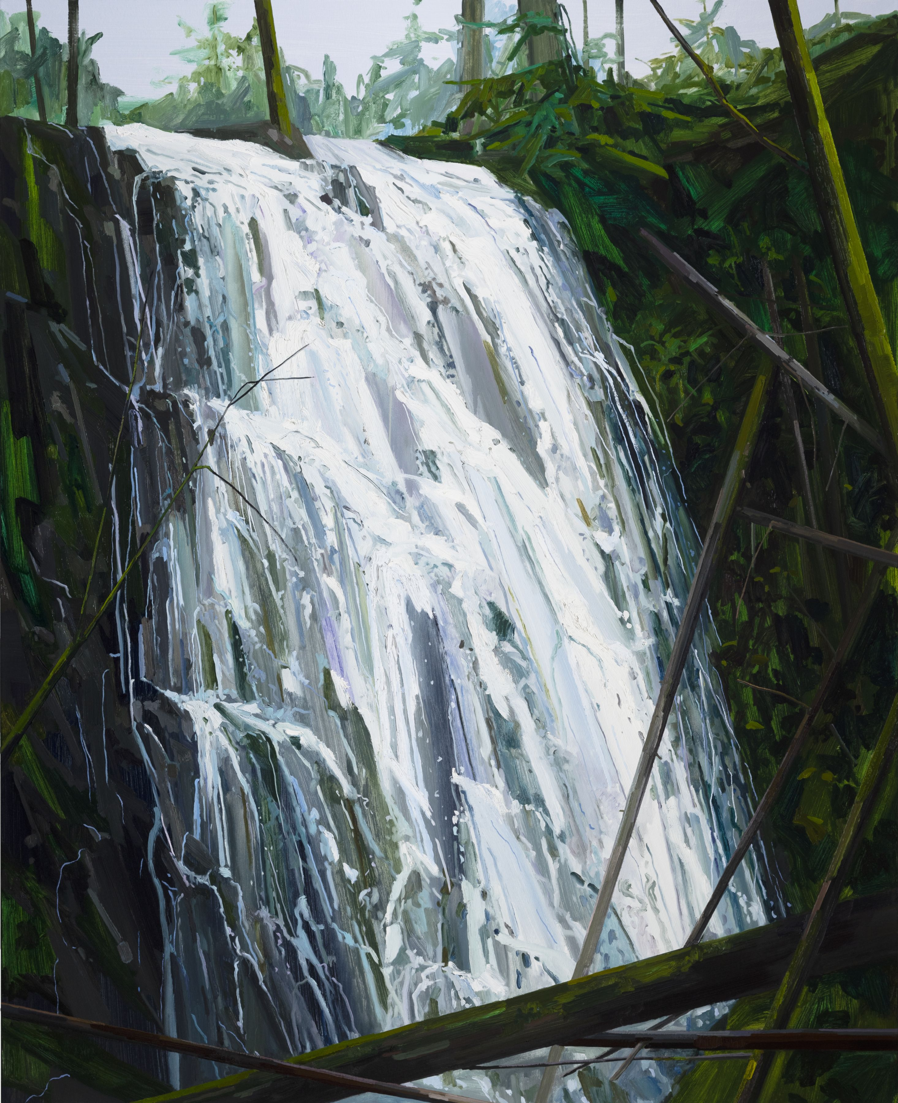 Waterfall, 2019 Oil on canvas