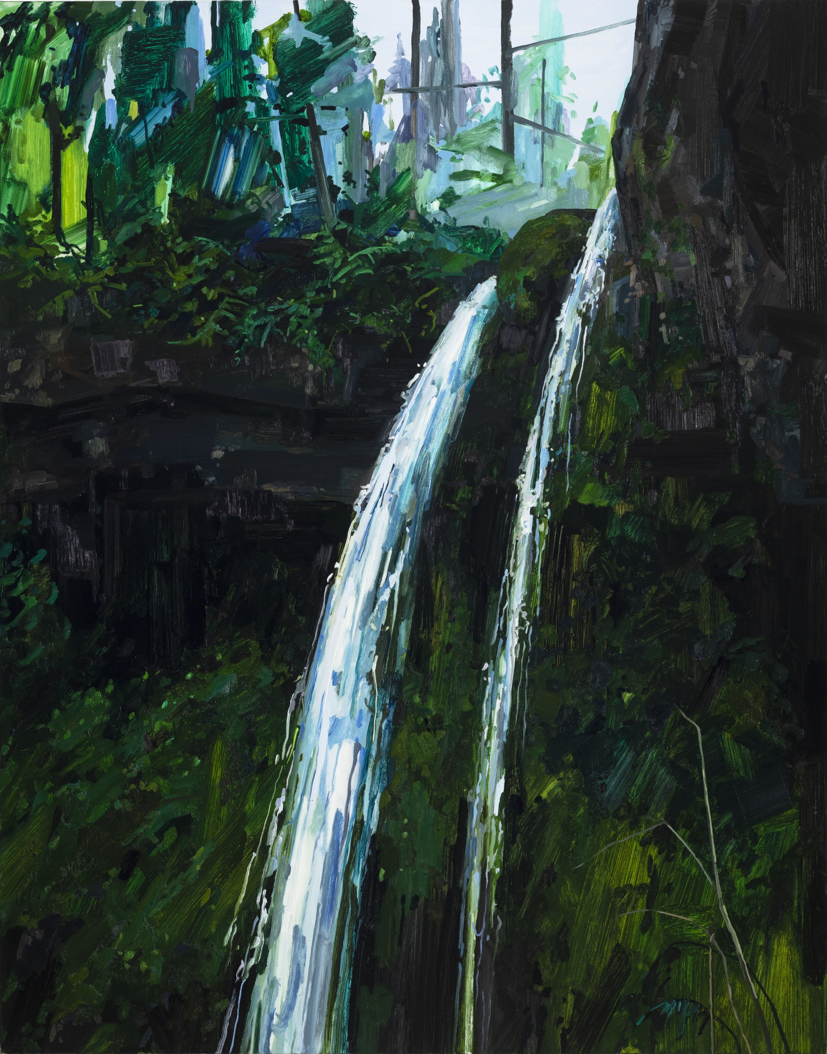 Claire Sherman Waterfall, 2018