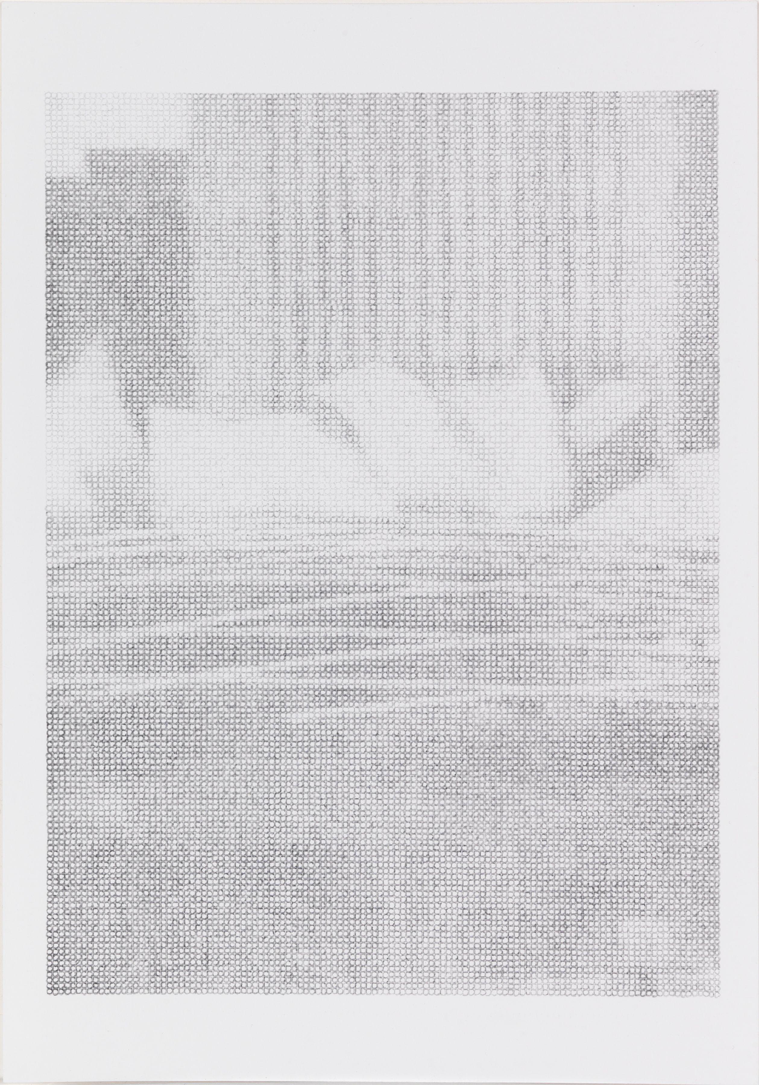 Ewan Gibbs Chicago Music Pavillion Ink and graphite on paper