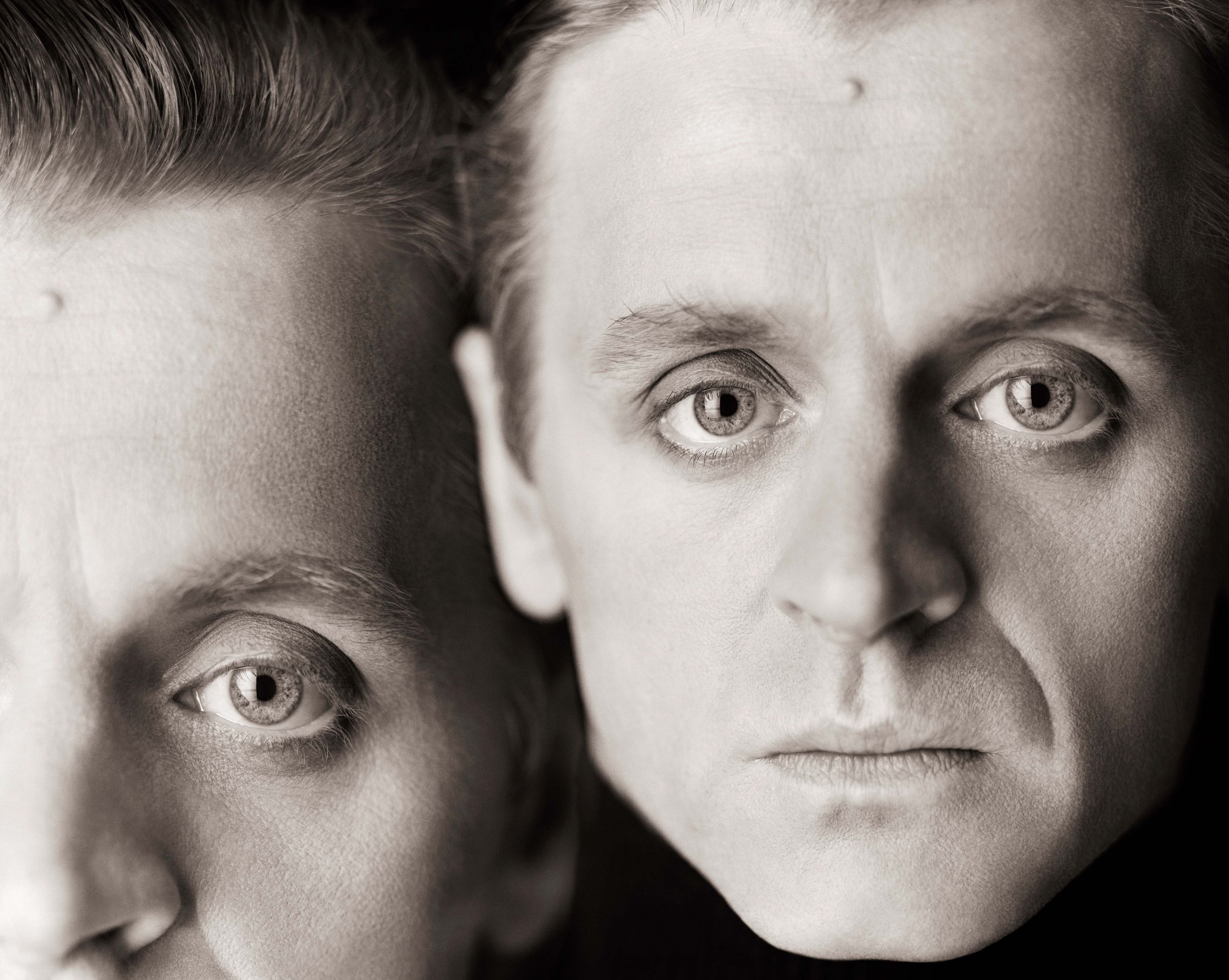 Mikhail Baryshnikov, Double Exposure, New York, 1987, Archival Pigment Print