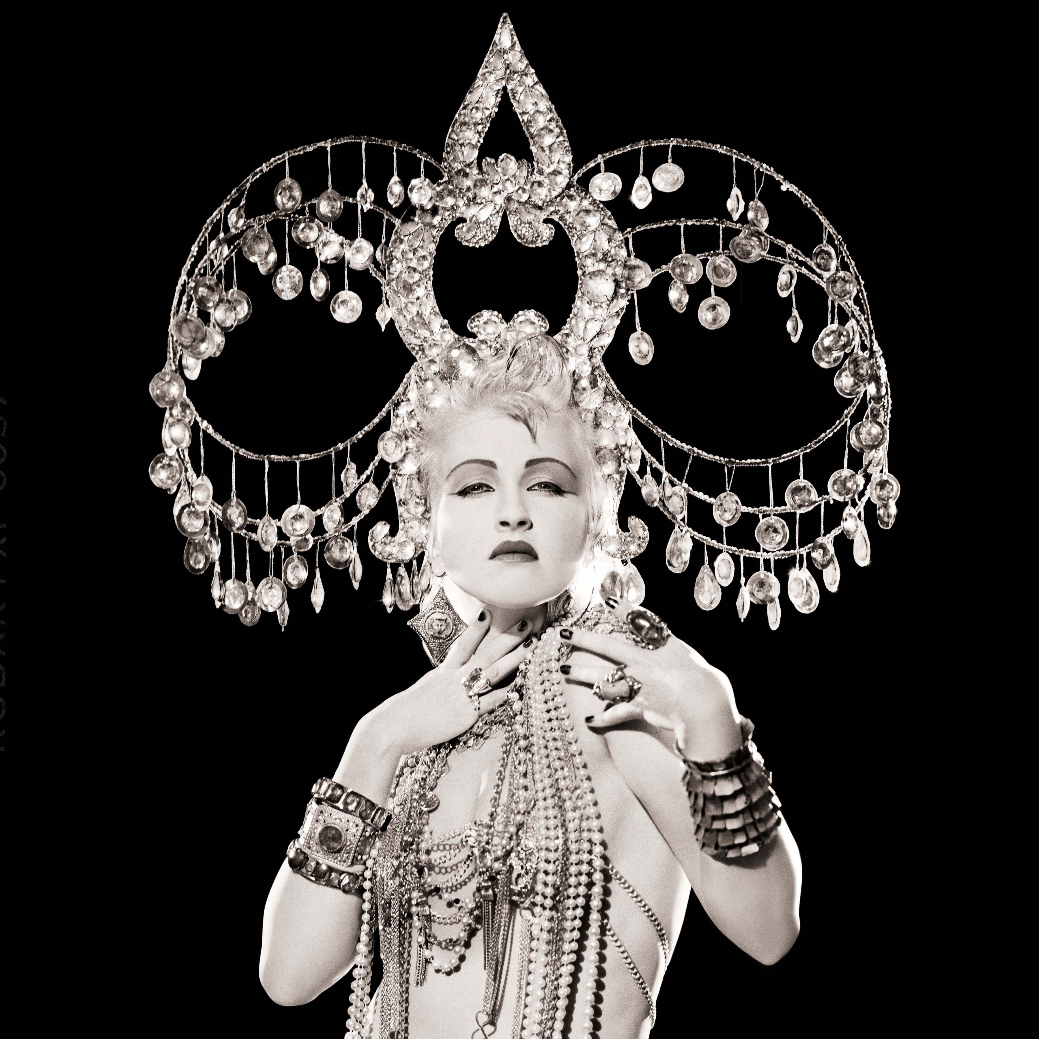 Cyndi Lauper, Headdress, Los Angeles, 1986, Archival Pigment Print