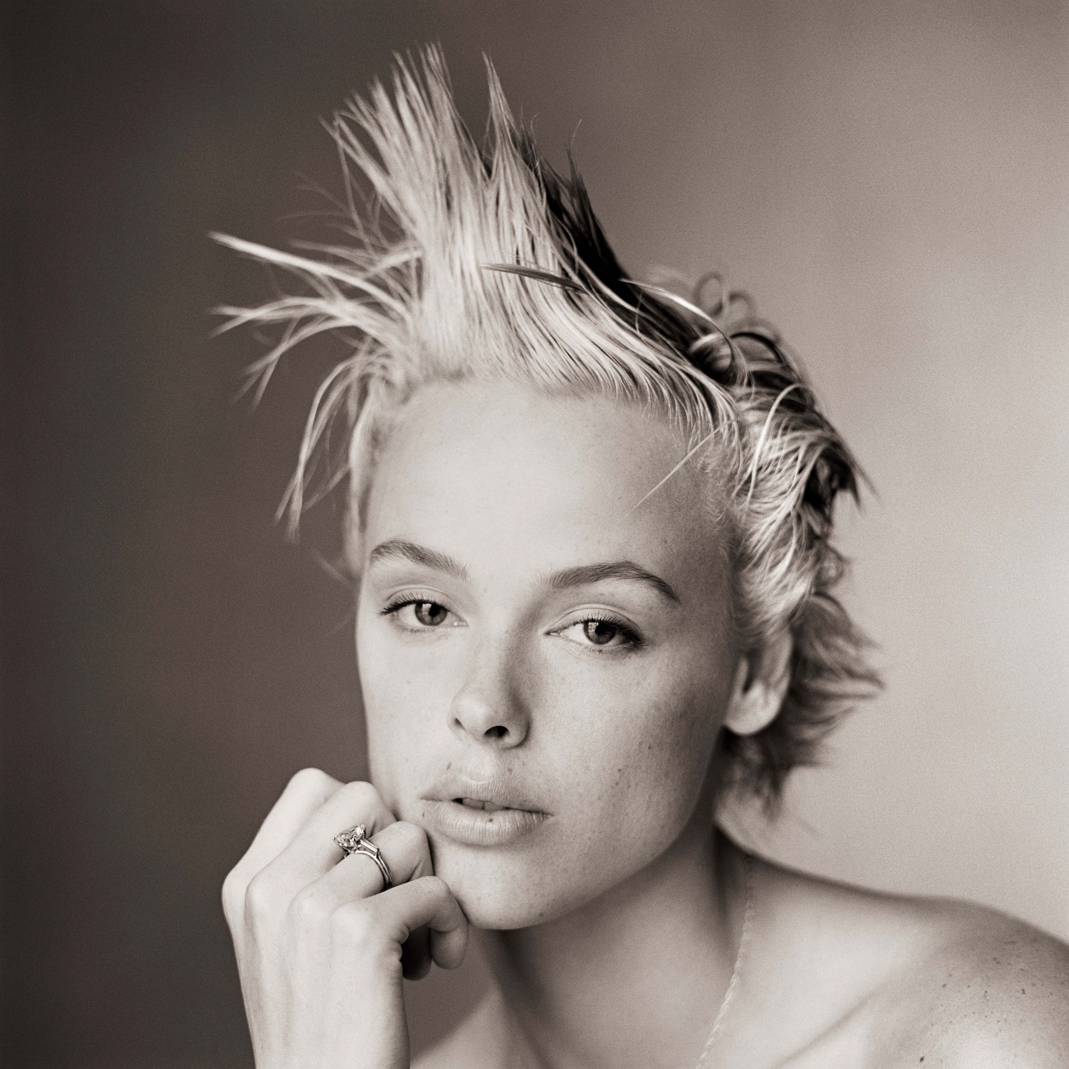 Brigitte Nielsen, Without Makeup II, Los Angeles, 1986, Archival Pigment Print
