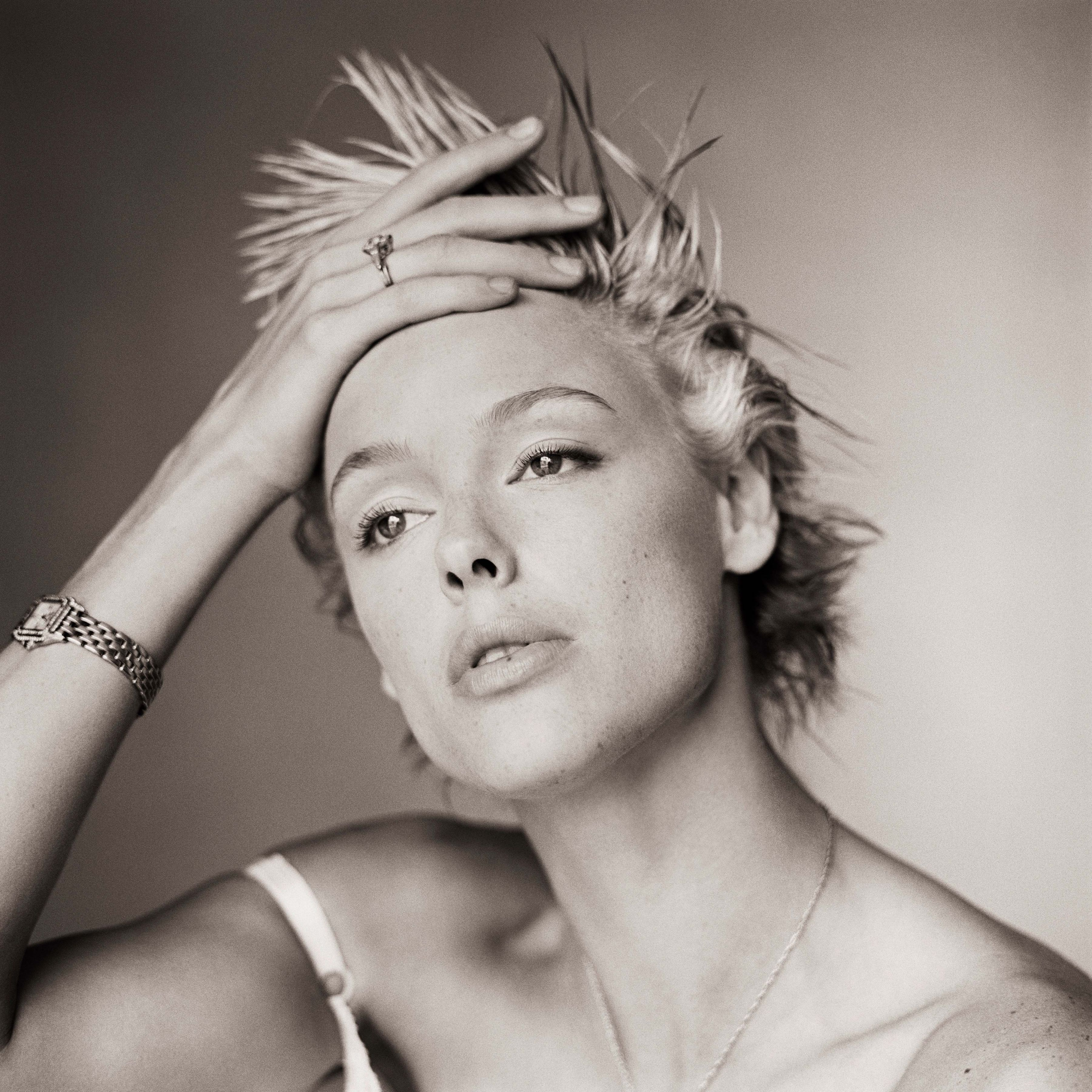 Brigitte Nielsen, Without Makeup I, Los Angeles, 1986, Archival Pigment Print