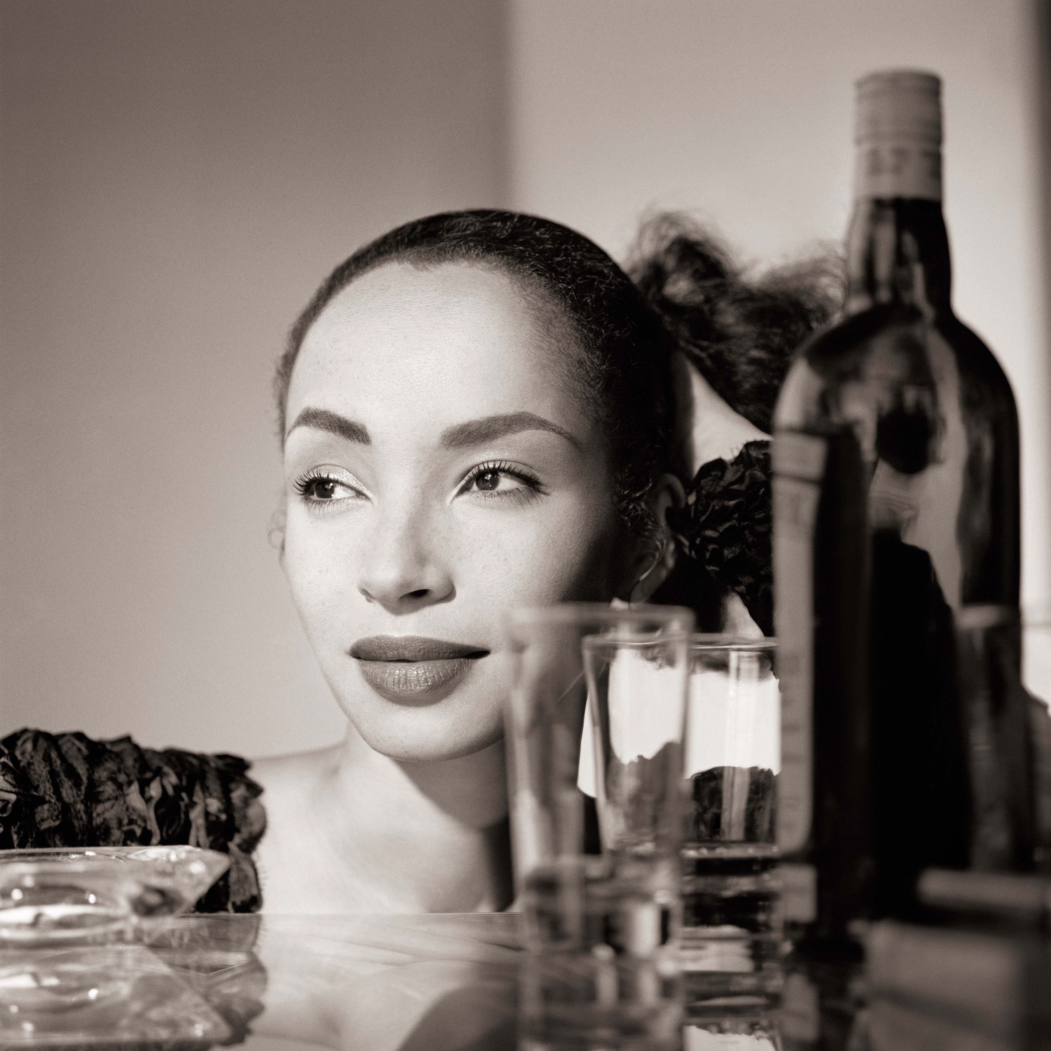 Sade with Cocktails, Los Angeles, 1988, Archival Pigment Print