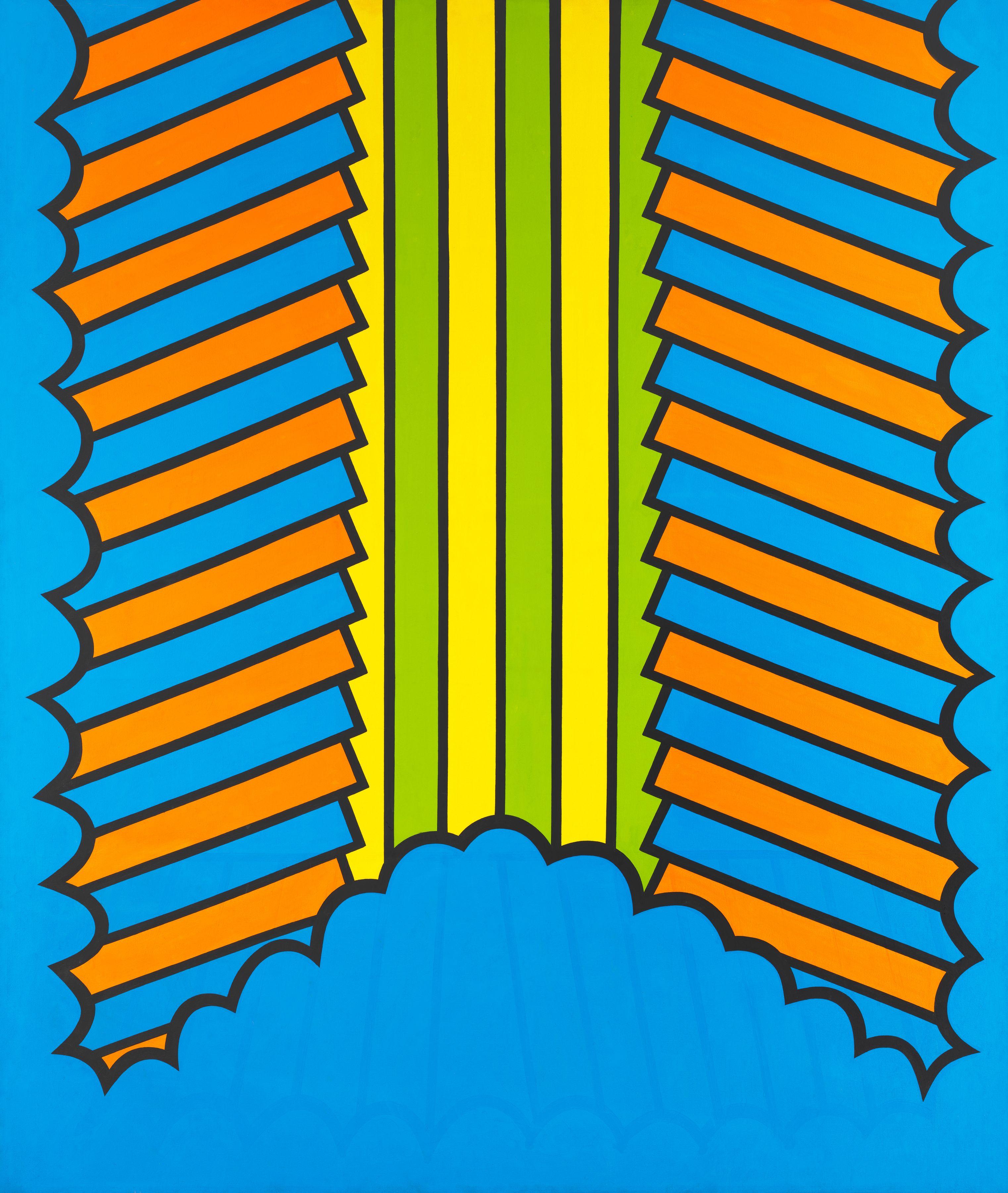 Honeysuckle, 1966, Acrylic on canvas