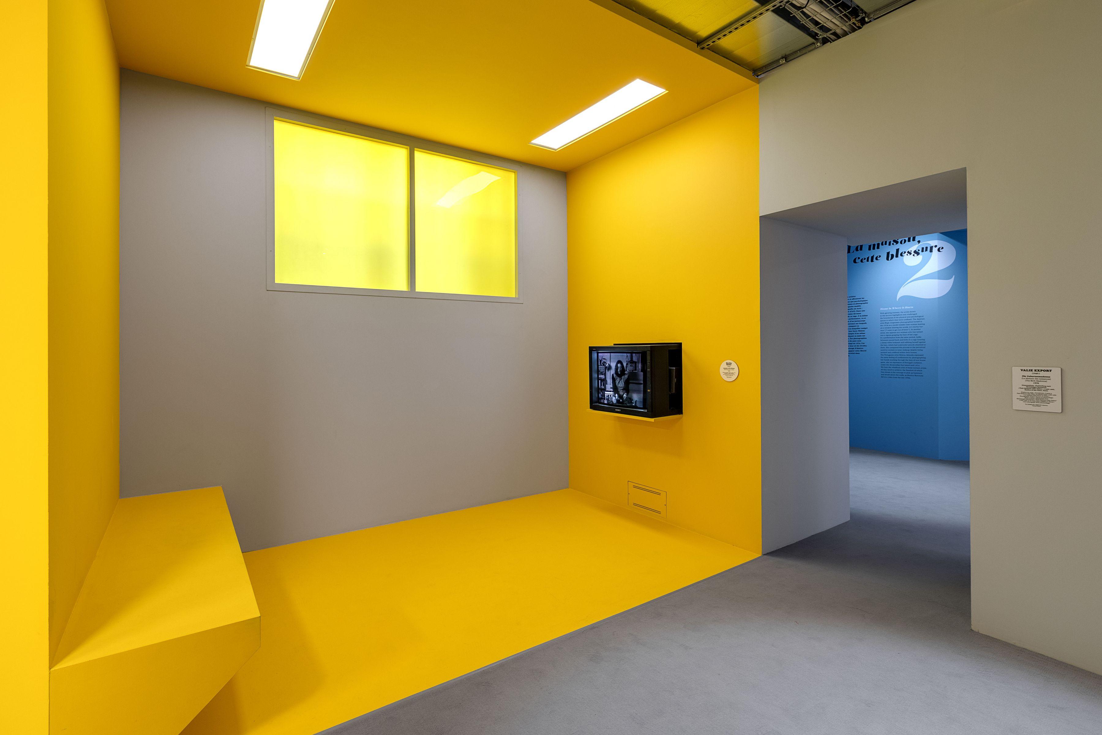 Installation view ofWomen Houseat Monnaie de Paris, 2017