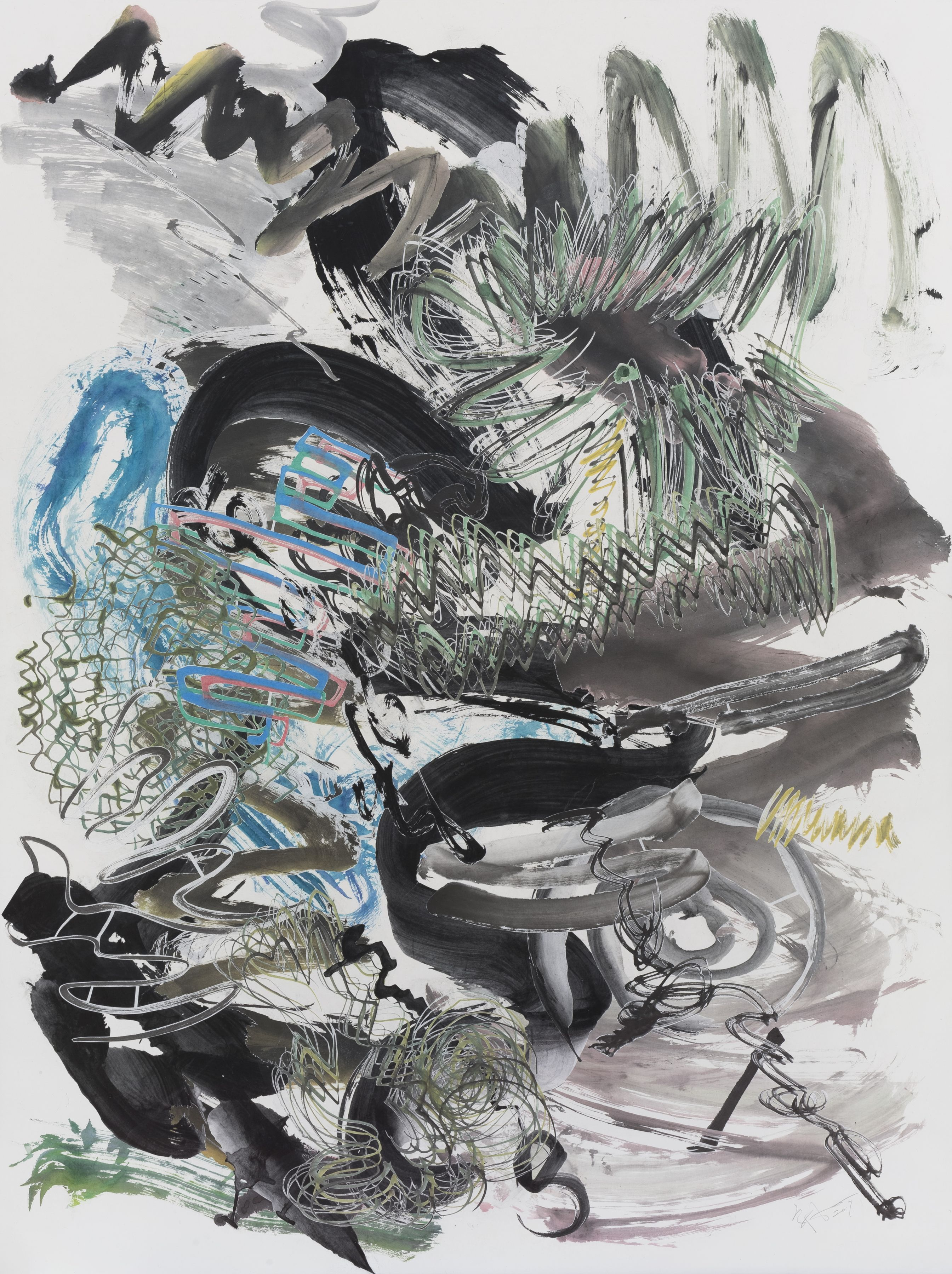 Wu Jian'an 邬建安 (b. 1980), 500 Brushstrokes #19 五百笔 #19