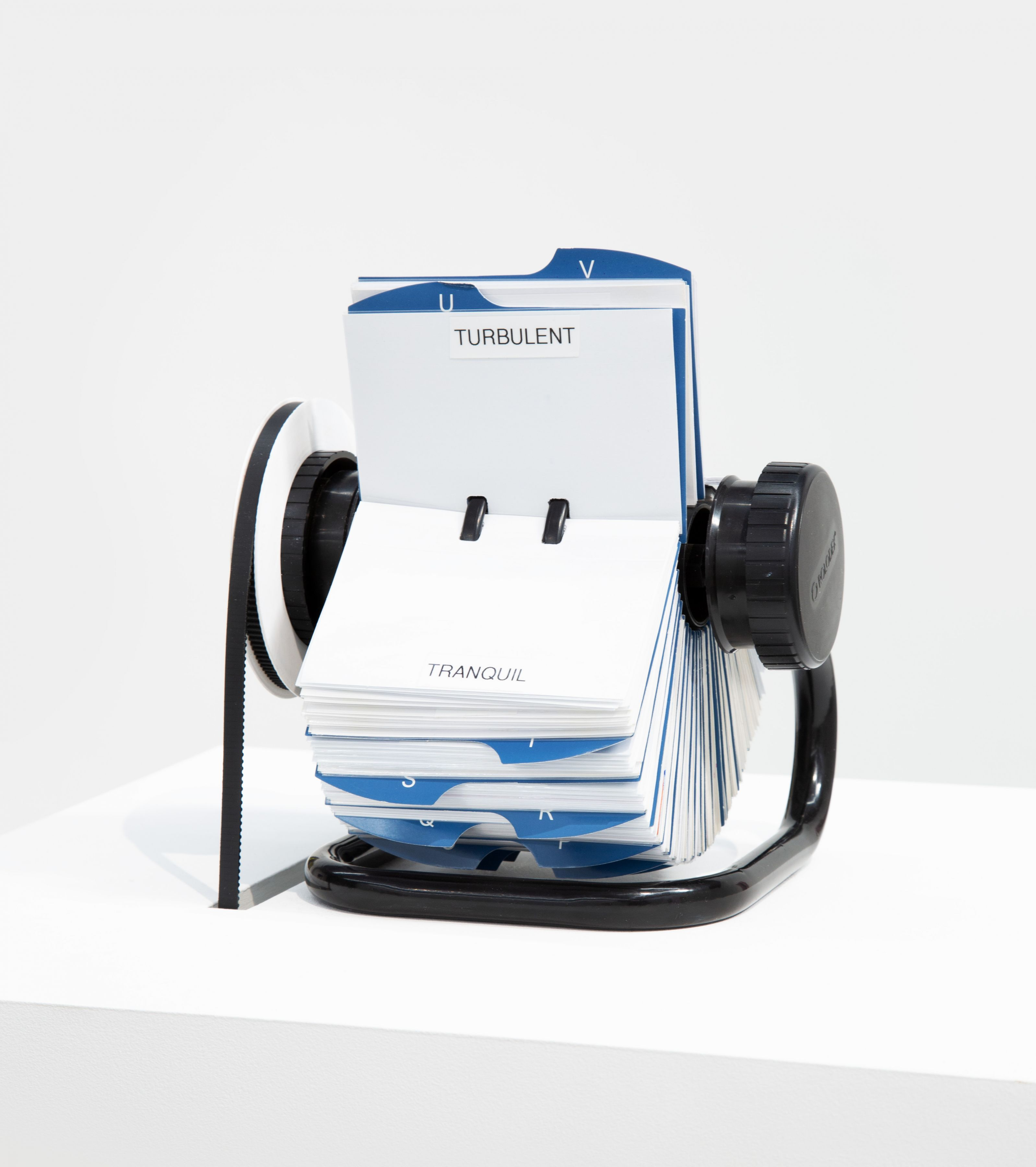 rolodex closeup