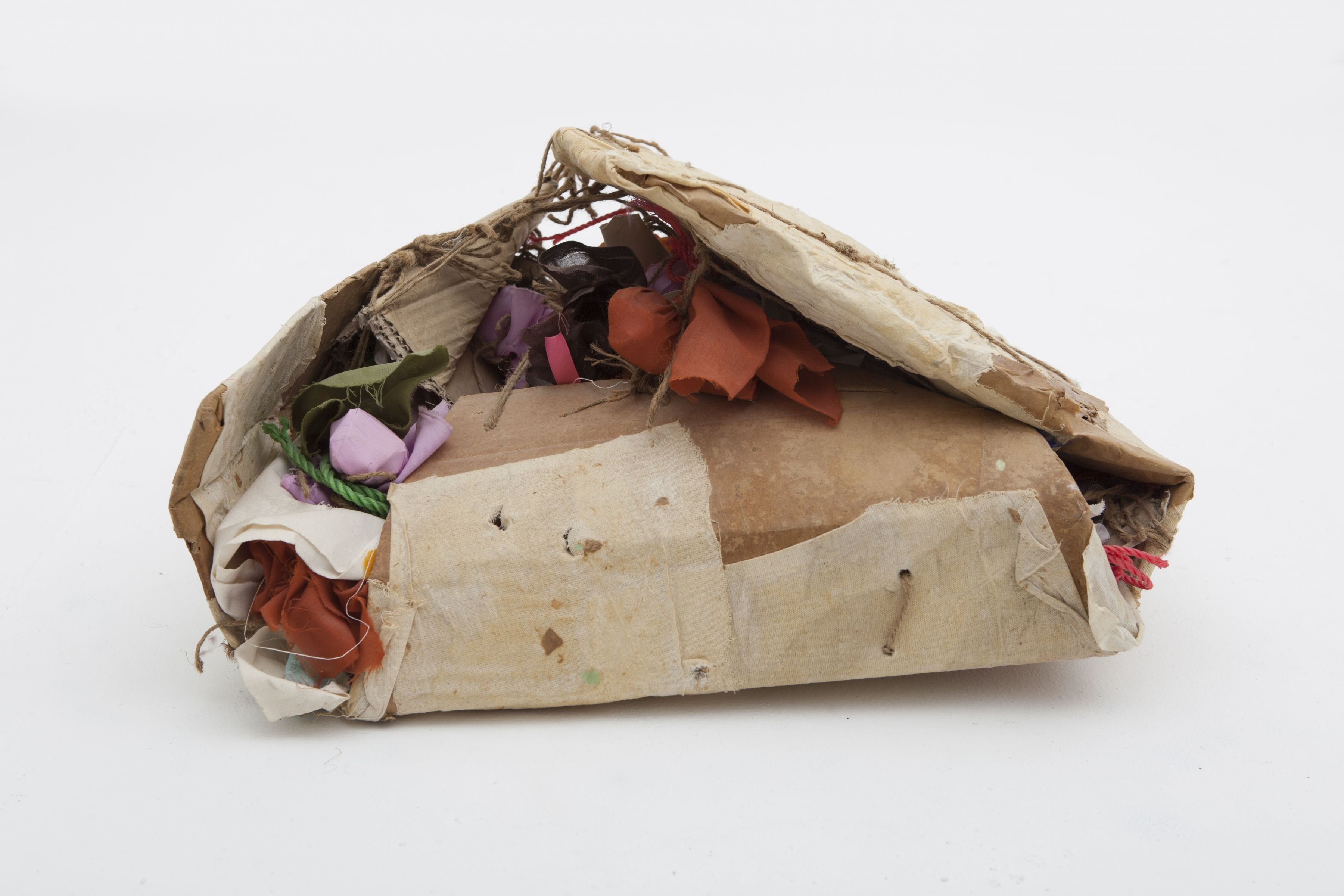 Plastic – Cardboard – Cloth, 2006, Mixed media