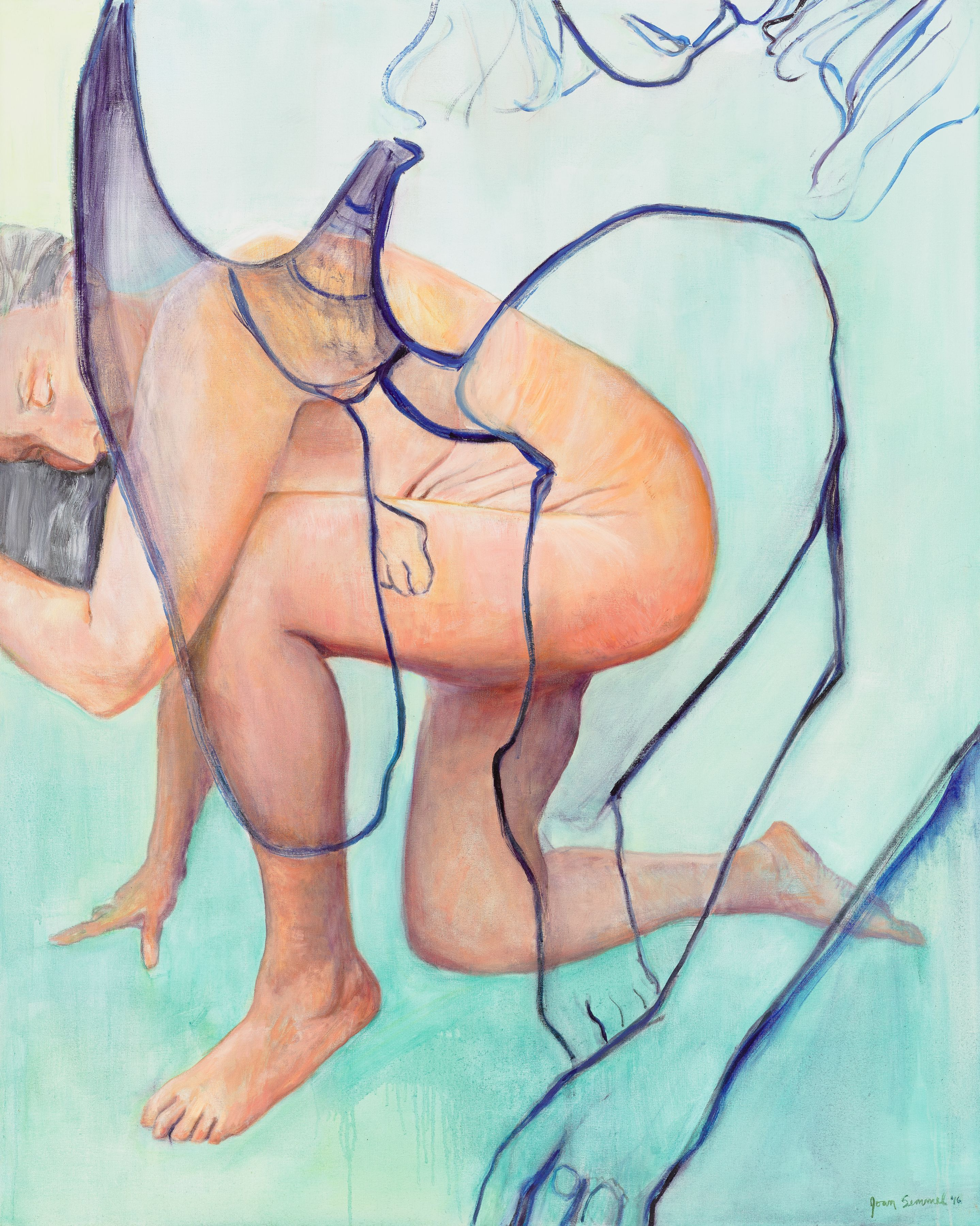 Joan Semmel, Step Out, 2016