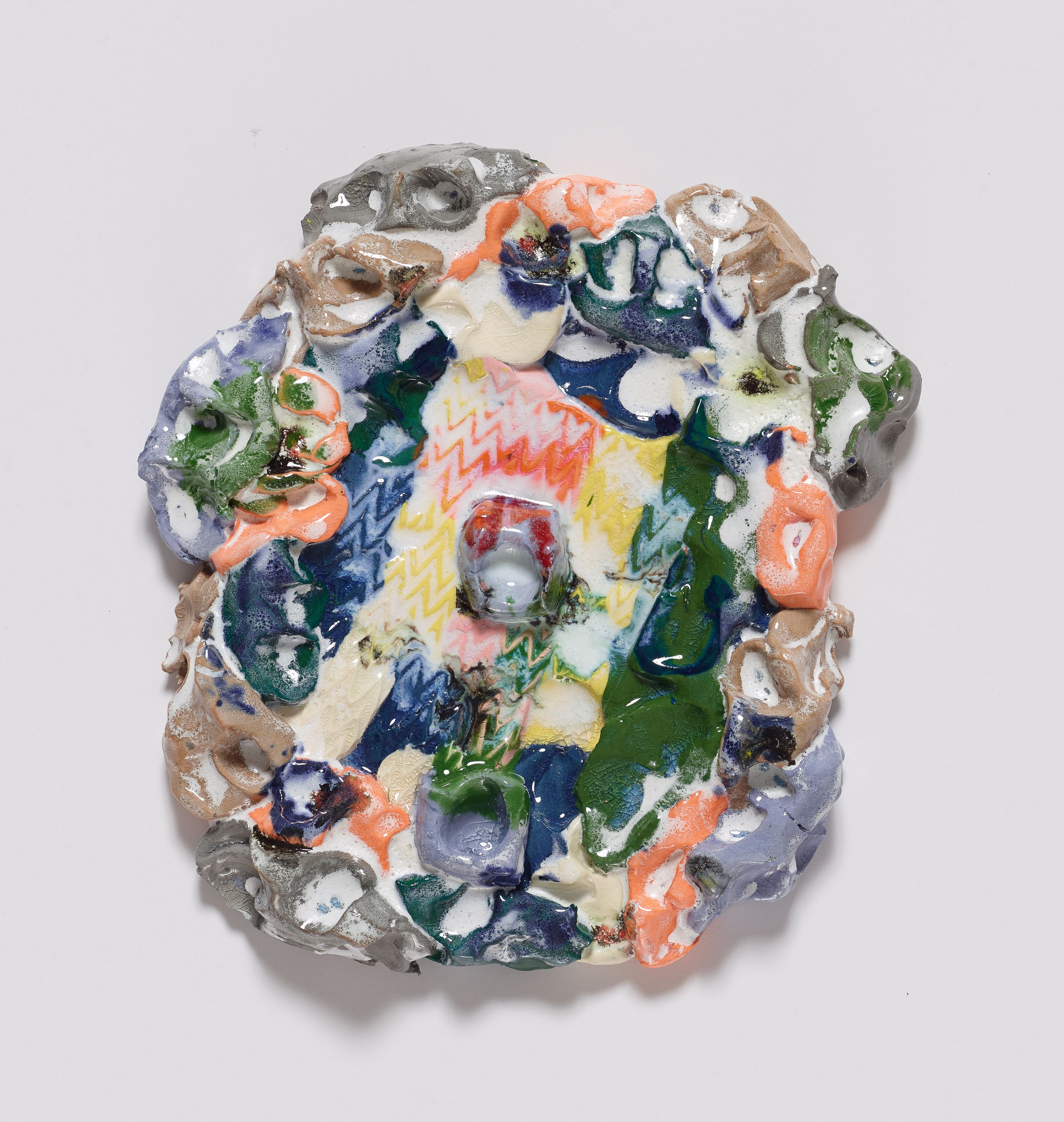 Tina, 2014, Colored porcelain and glaze