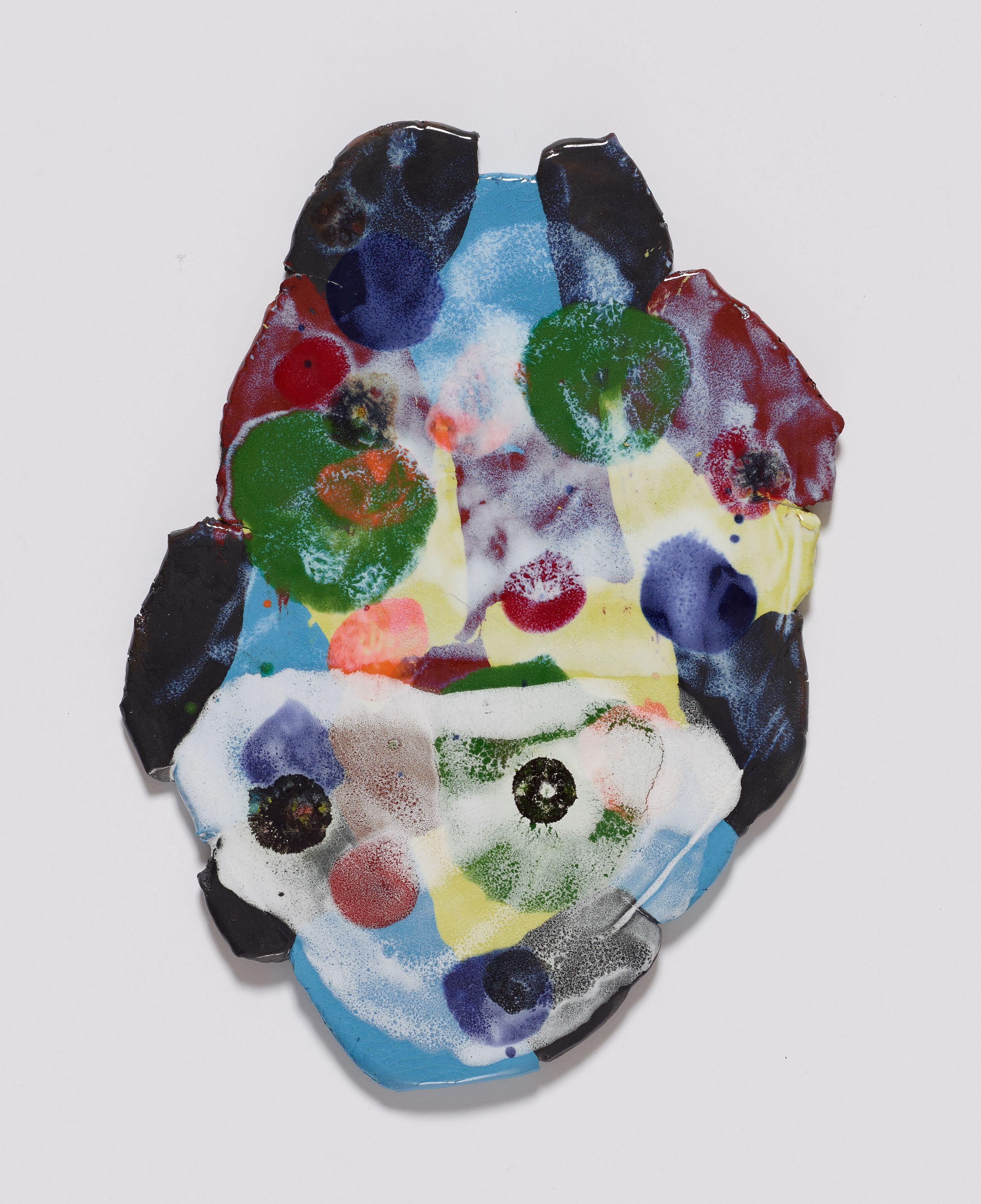 Luiz, 2016, Colored porcelain and glaze