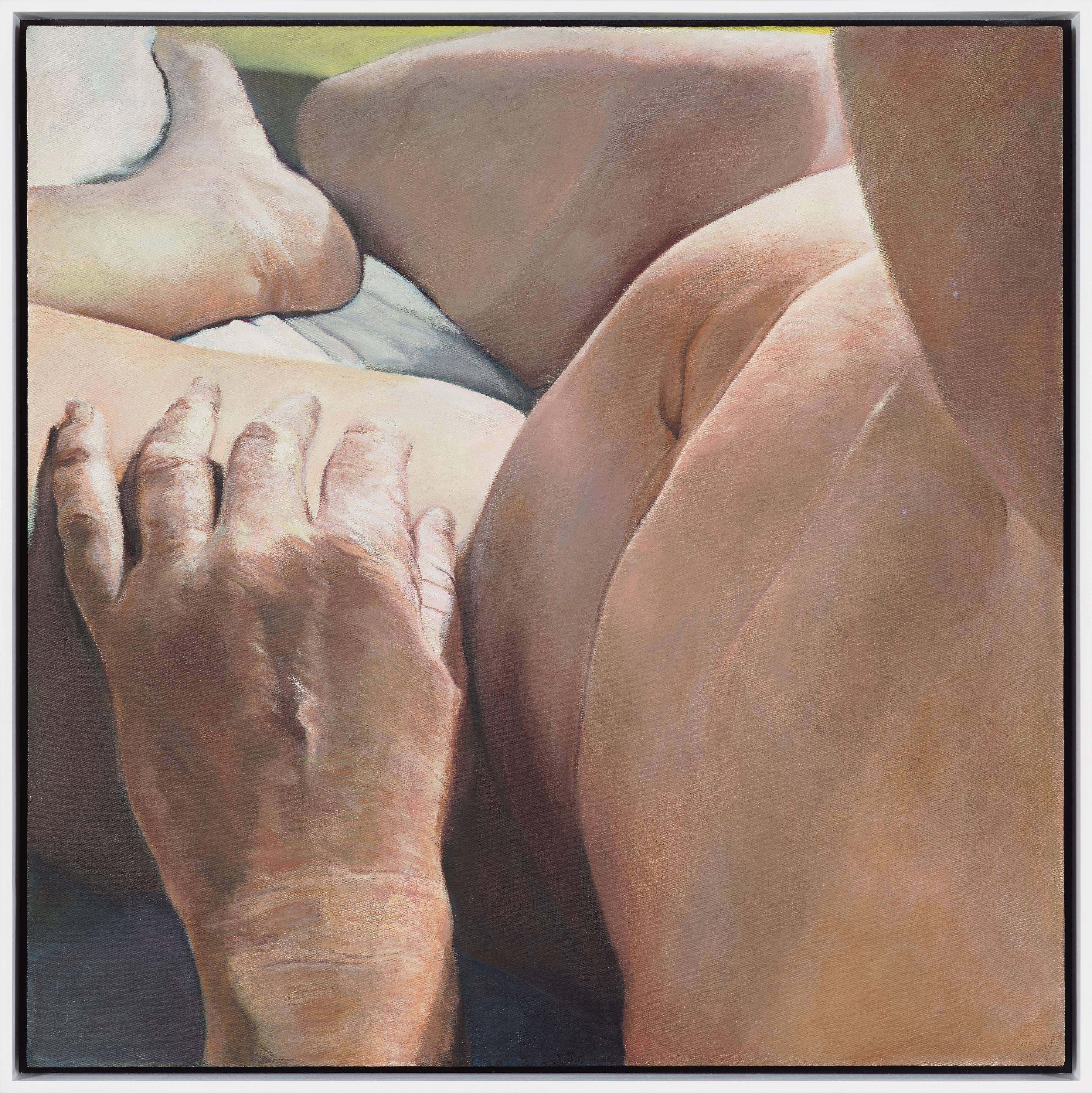 Joan Semmel, Foreground Hand, 1977