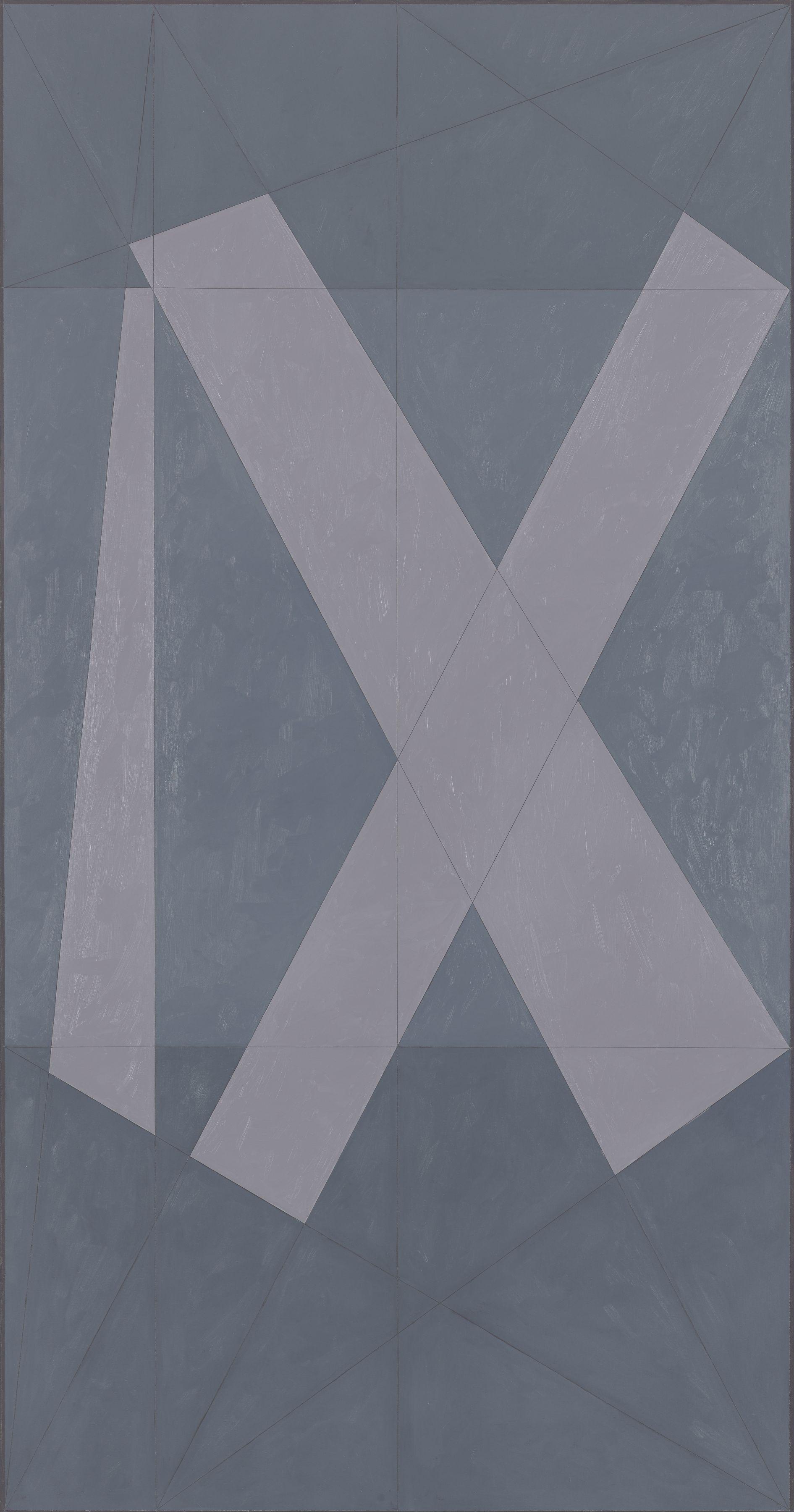 Roman IX, 1981, Oil on canvas