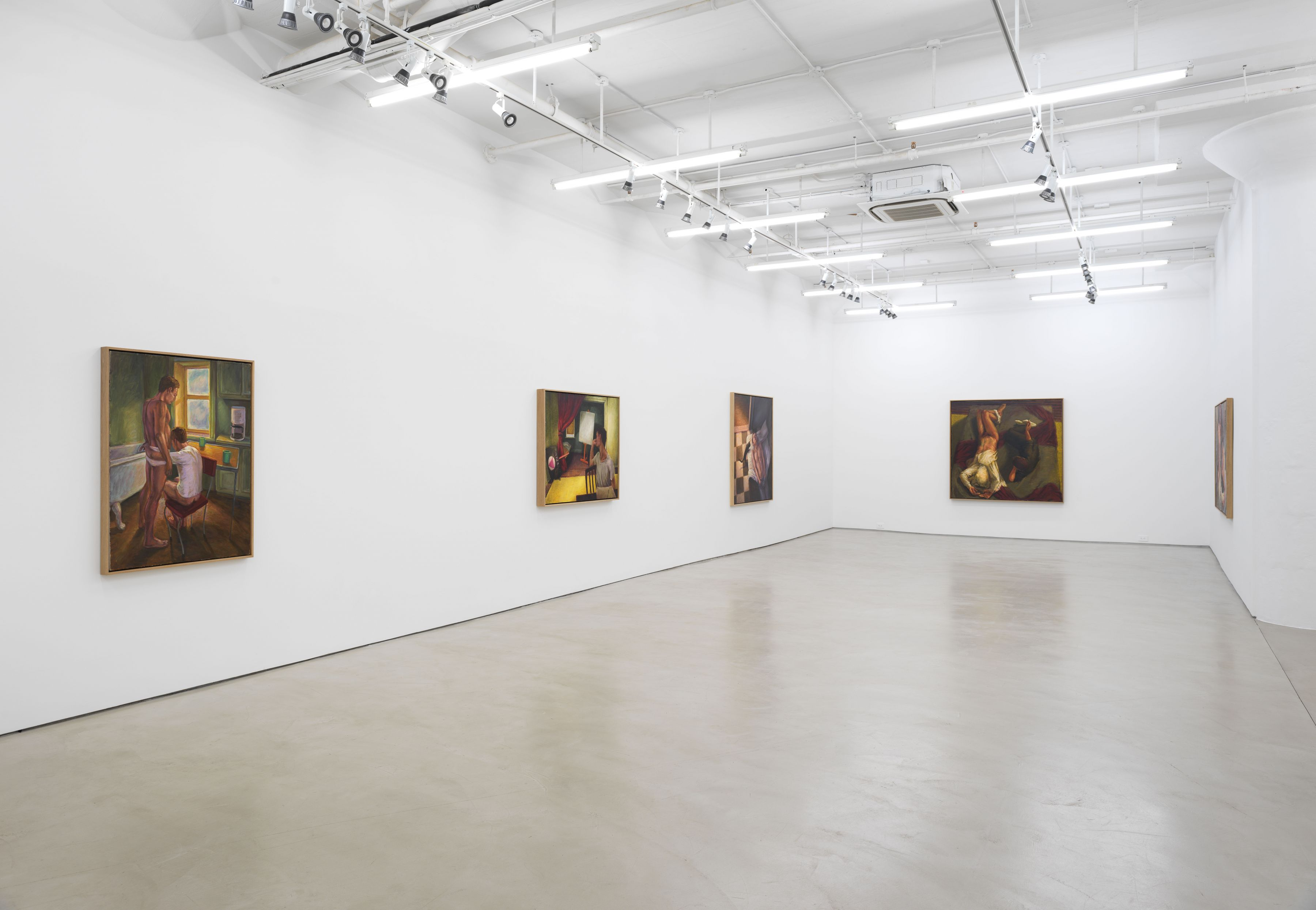 Hugh Steers:The Nullities of LifeInstallation viewAlexander Gray Associates (2018)