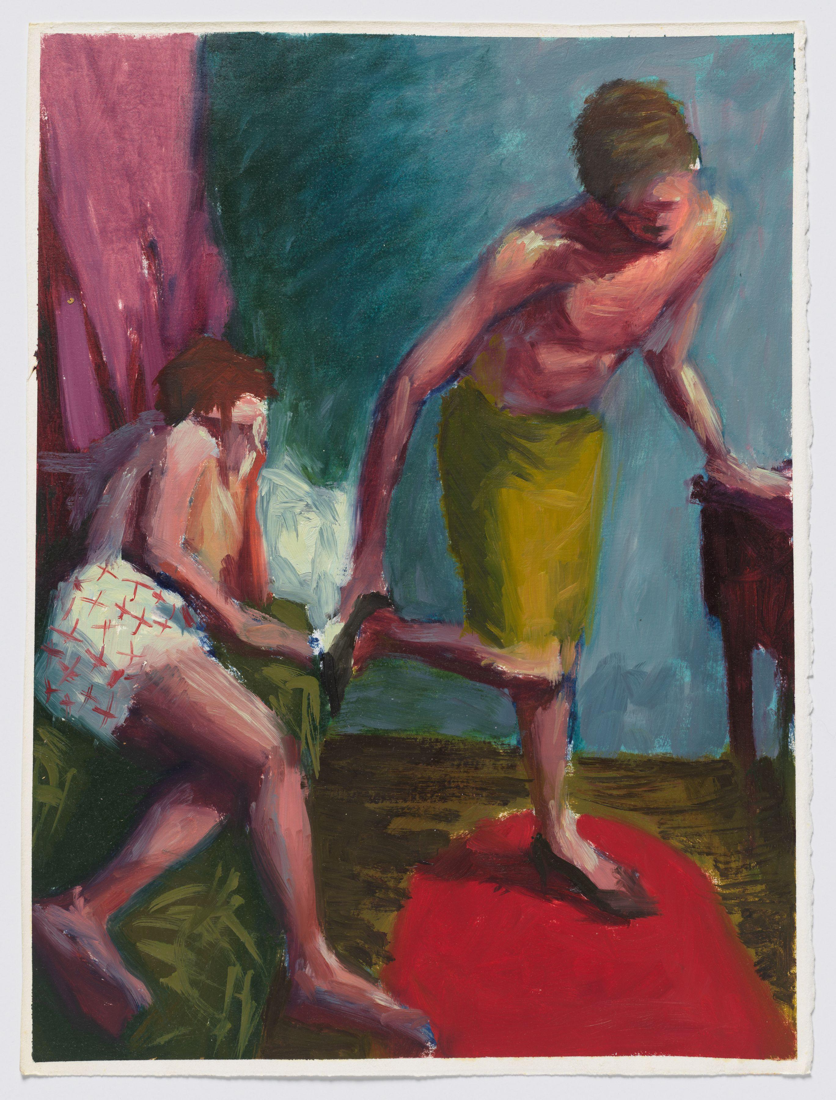 Hugh Steers Dressing, 1987