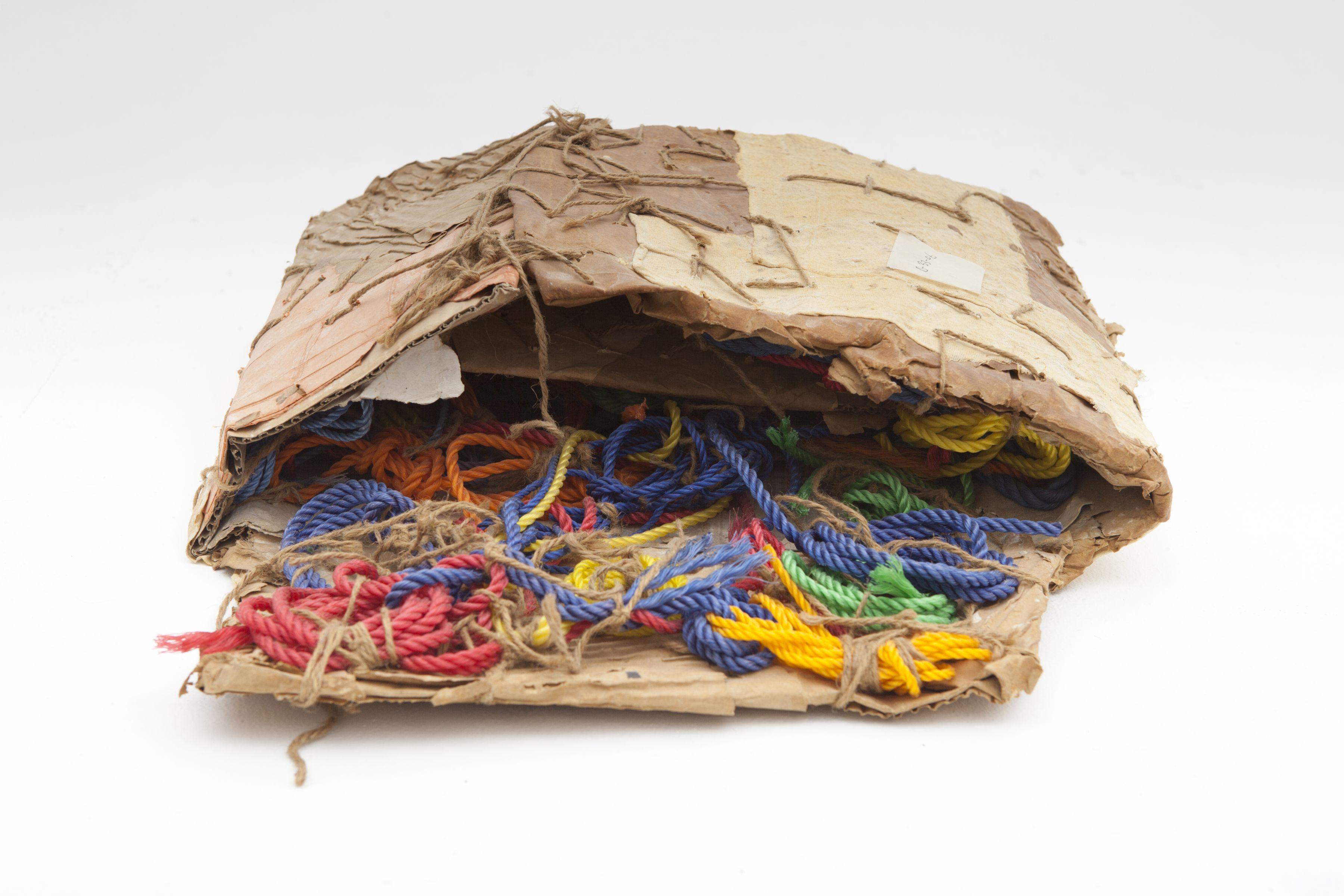 Cardboard, Plastic Rope & Jute, 2006, Mixed media