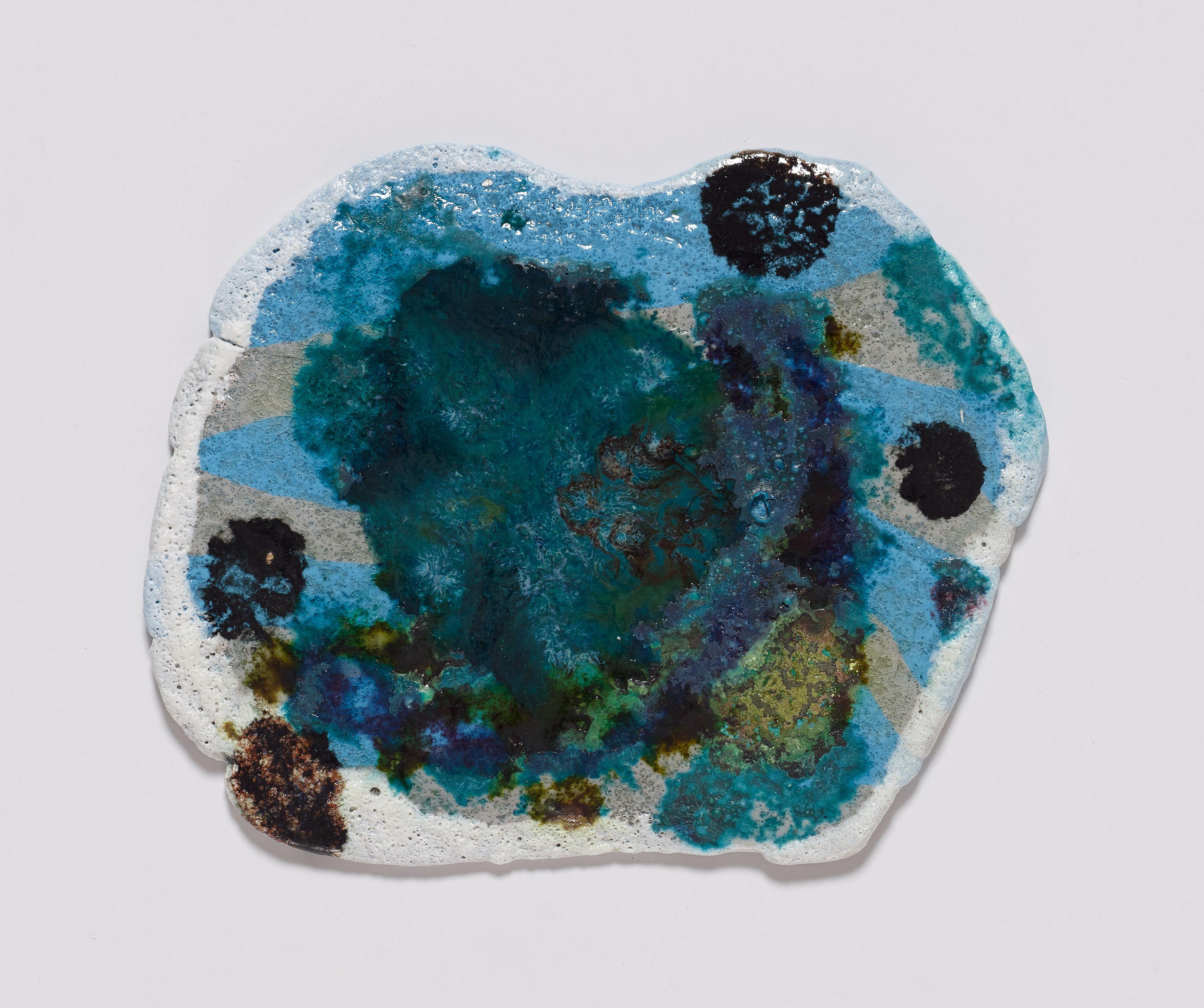 Bonnie, 2014, Colored porcelain and glaze
