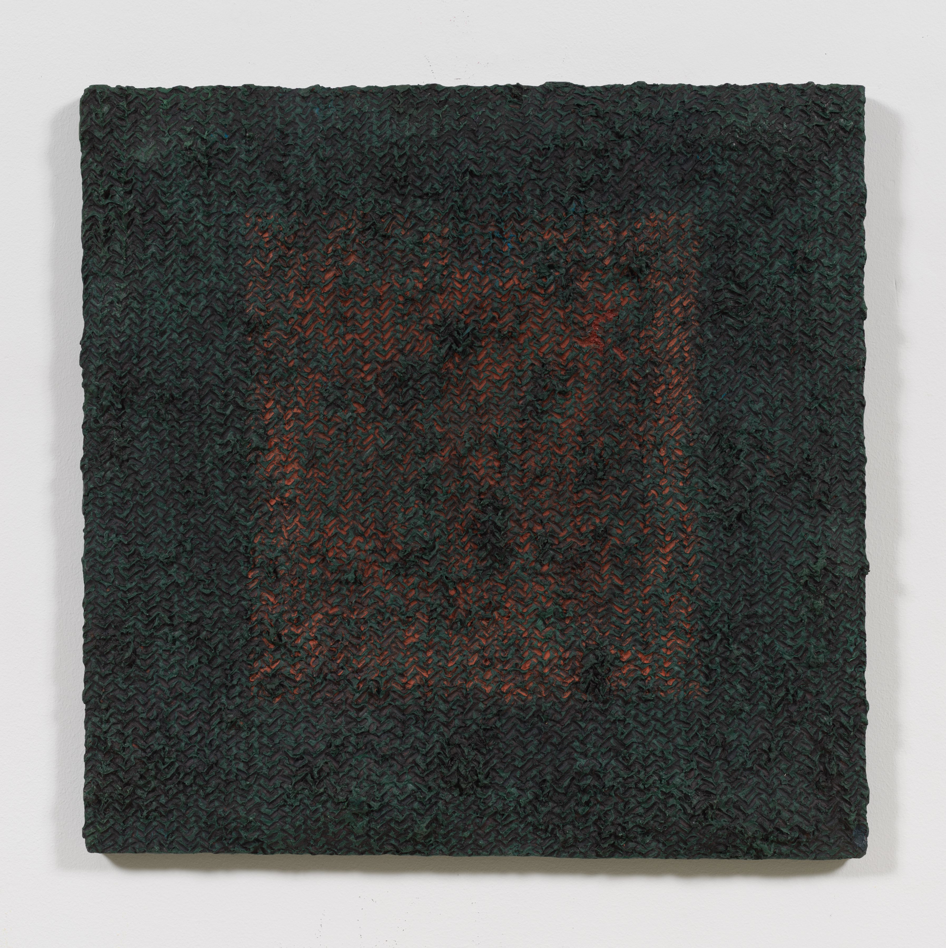 Green Veil, 1975, Oil and Dorland's wax on canvas