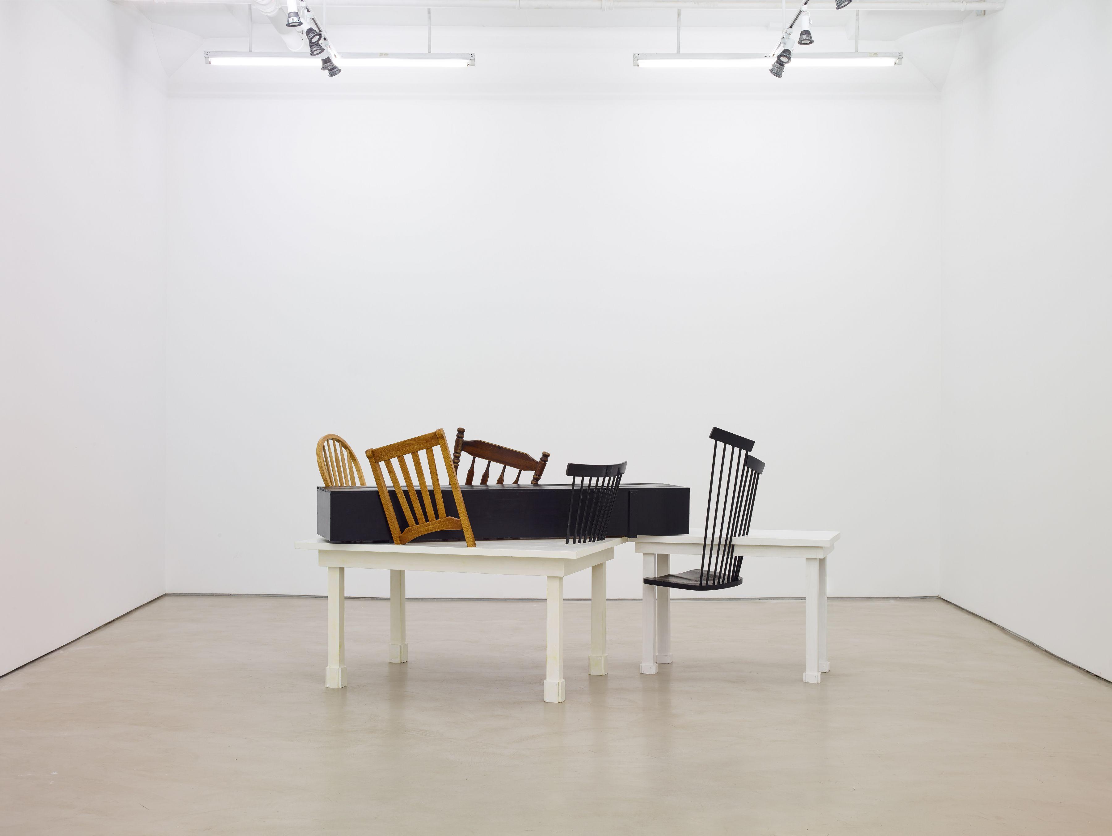 Siah Armajani, installation view, Alexander Gray Associates, 2016