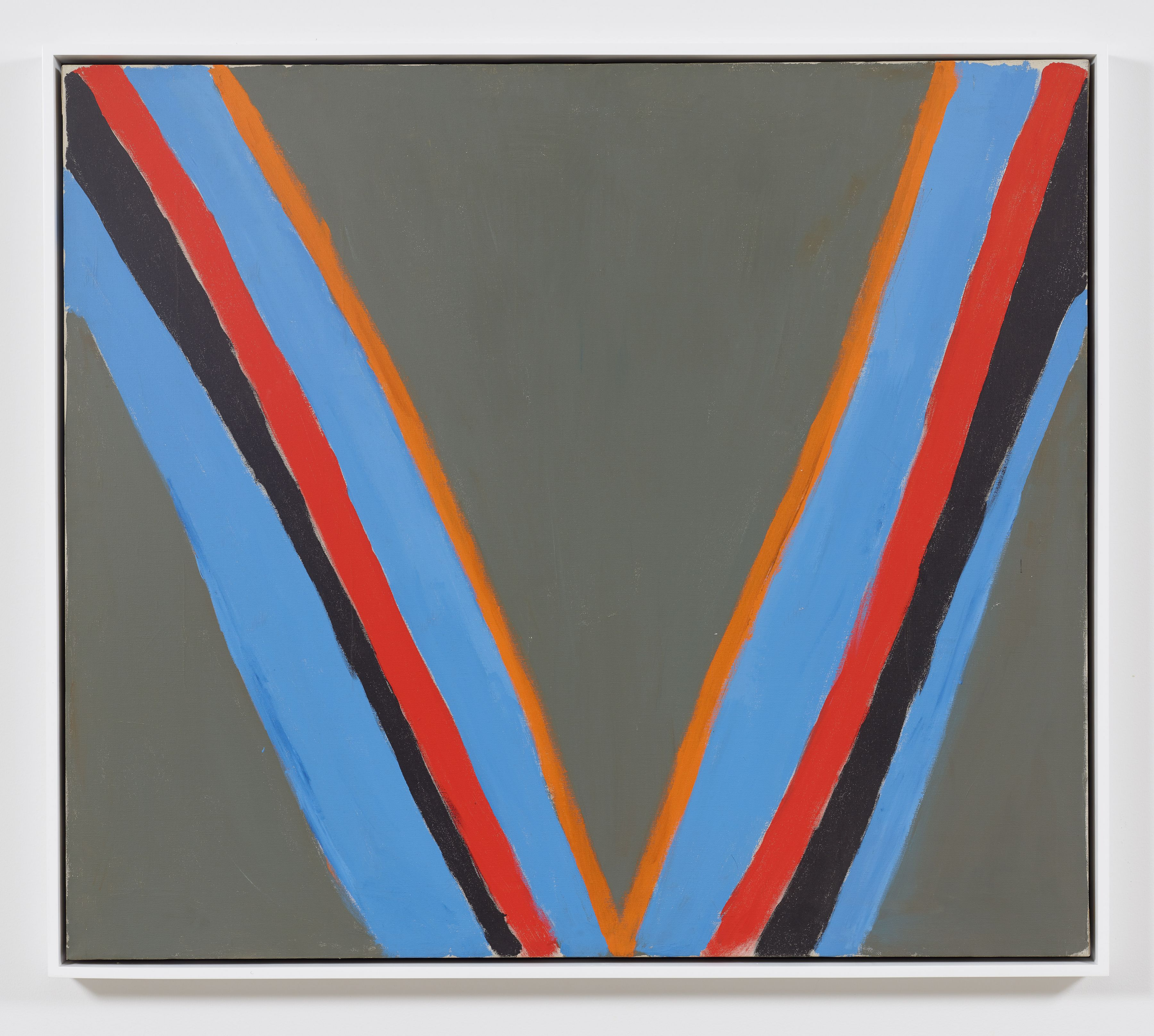 Victory, 1967 Acrylic on canvas