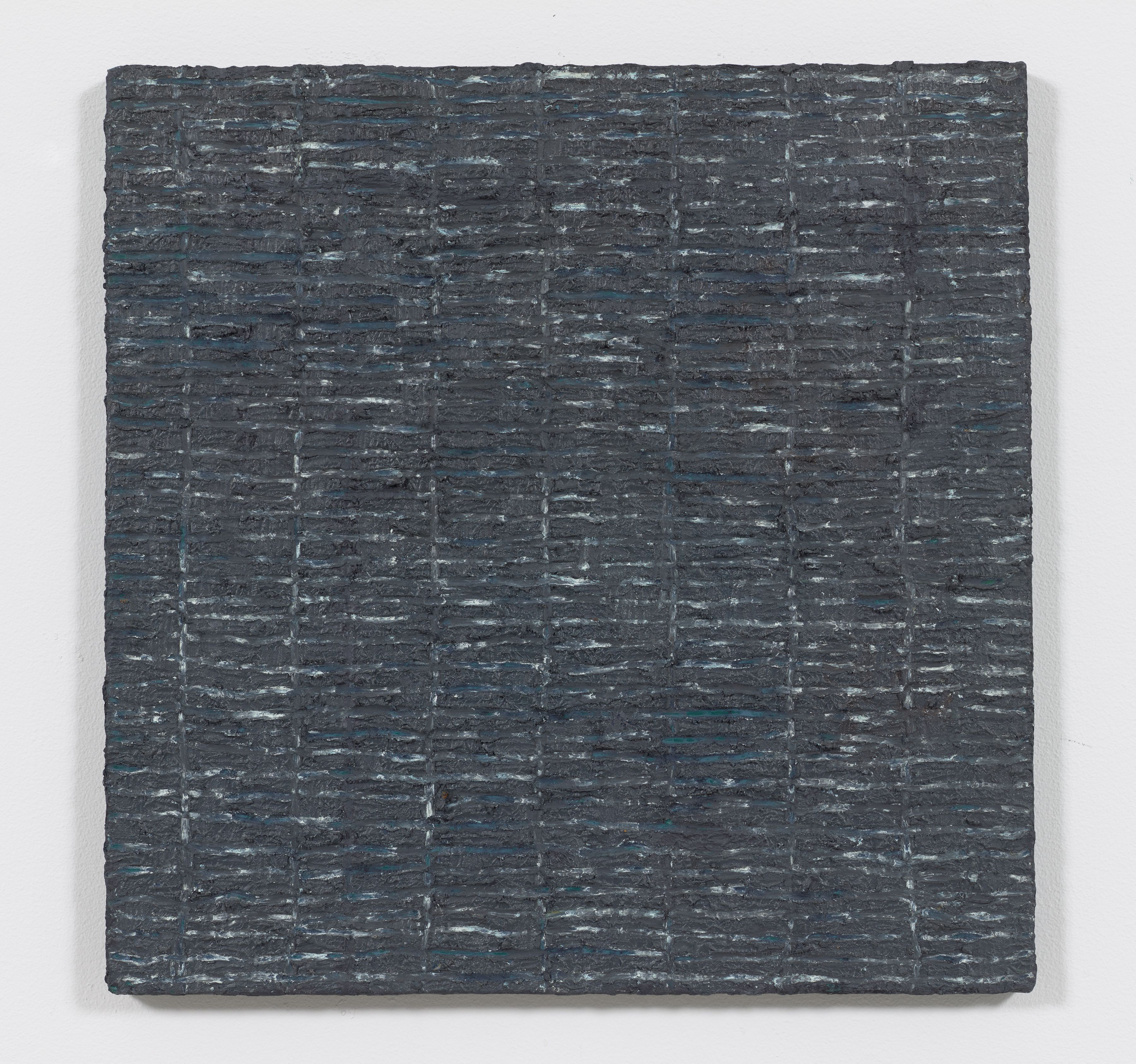 Grey Grid, 1974, Oil and Dorland's wax on canvas