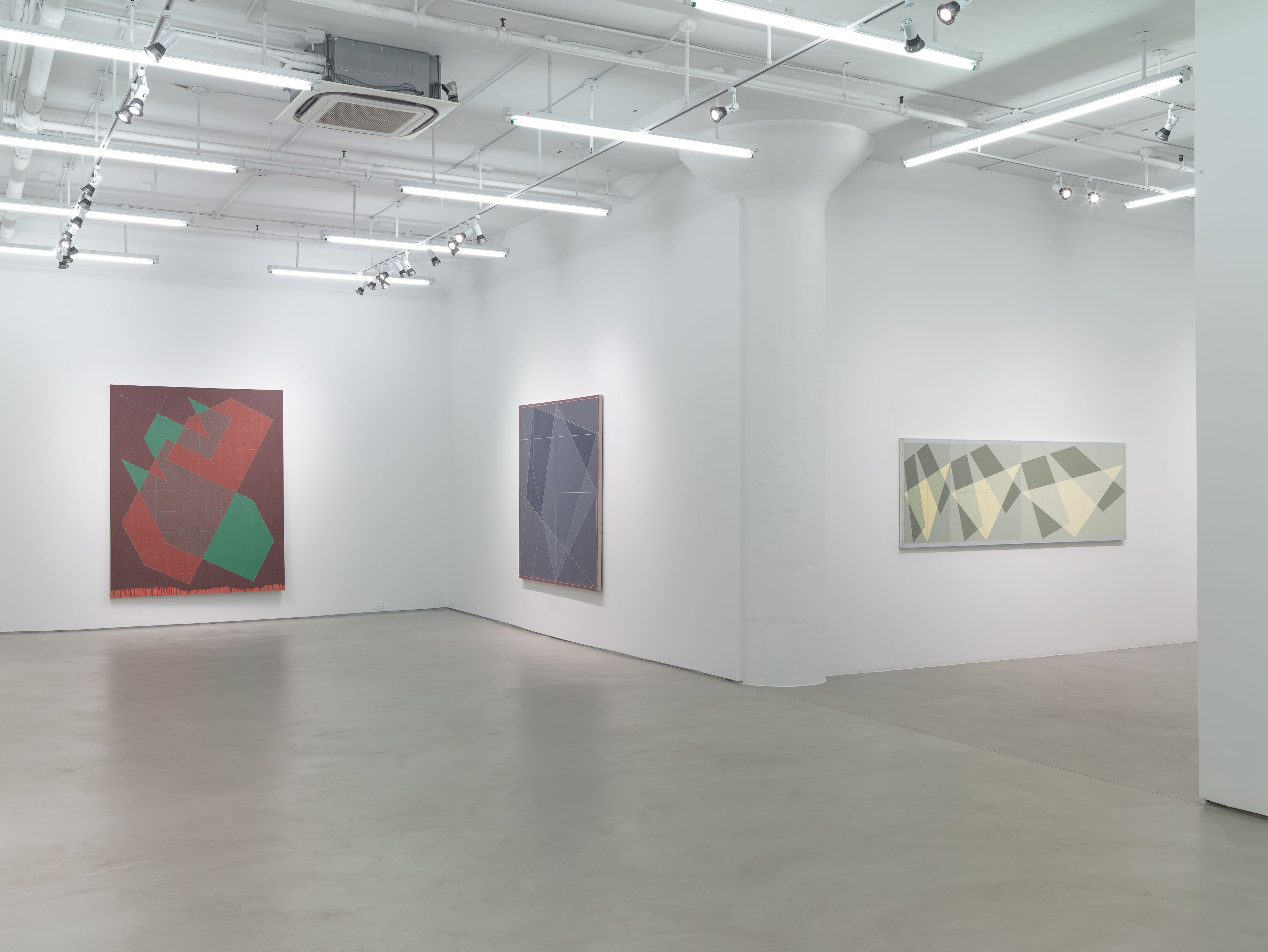 Jack Tworkov: Mark and Grid, 1931–1982, Installation View, Alexander Gray Associates, 2015