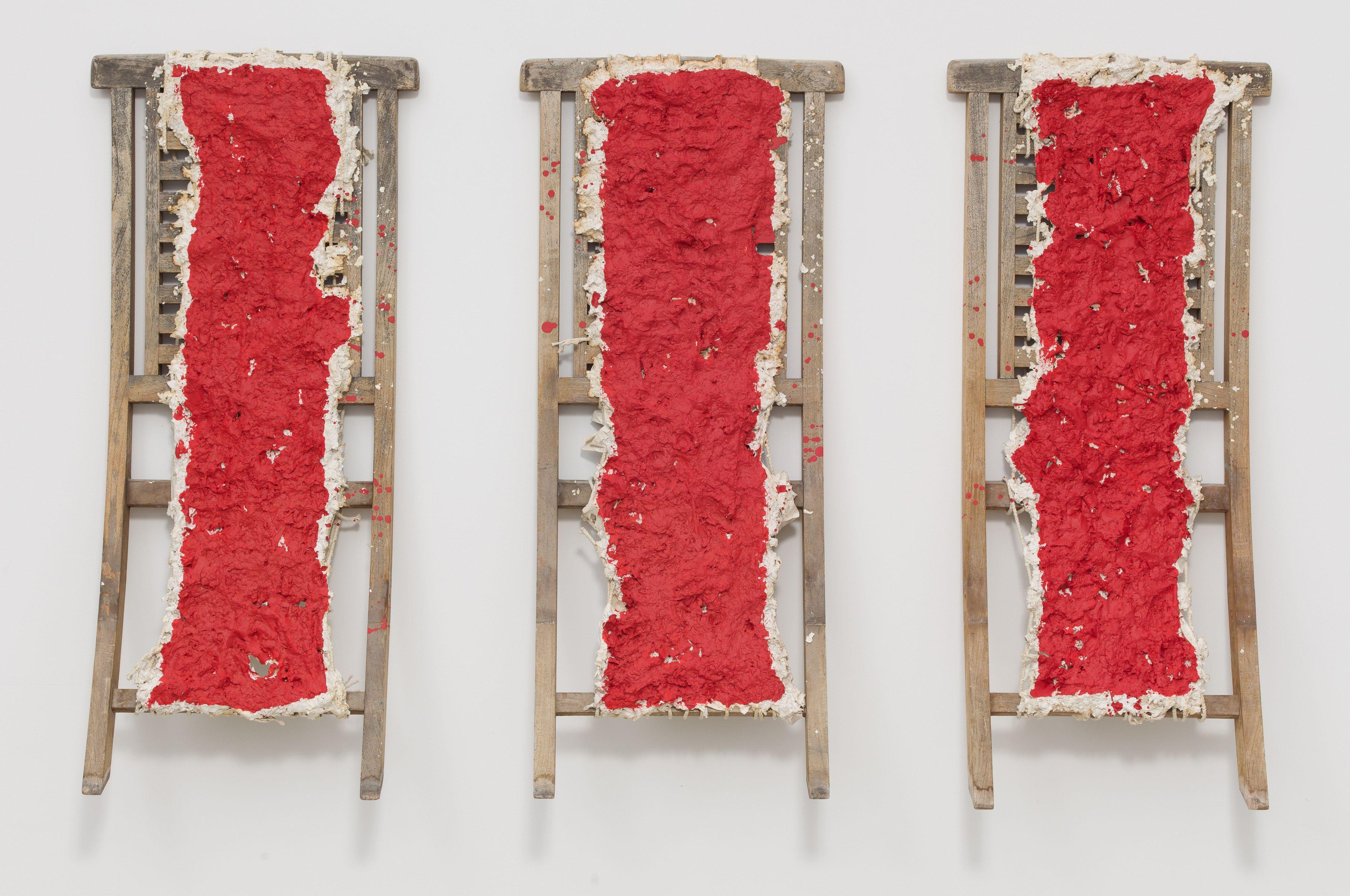 Cadmium Red, 2014, Mixed media