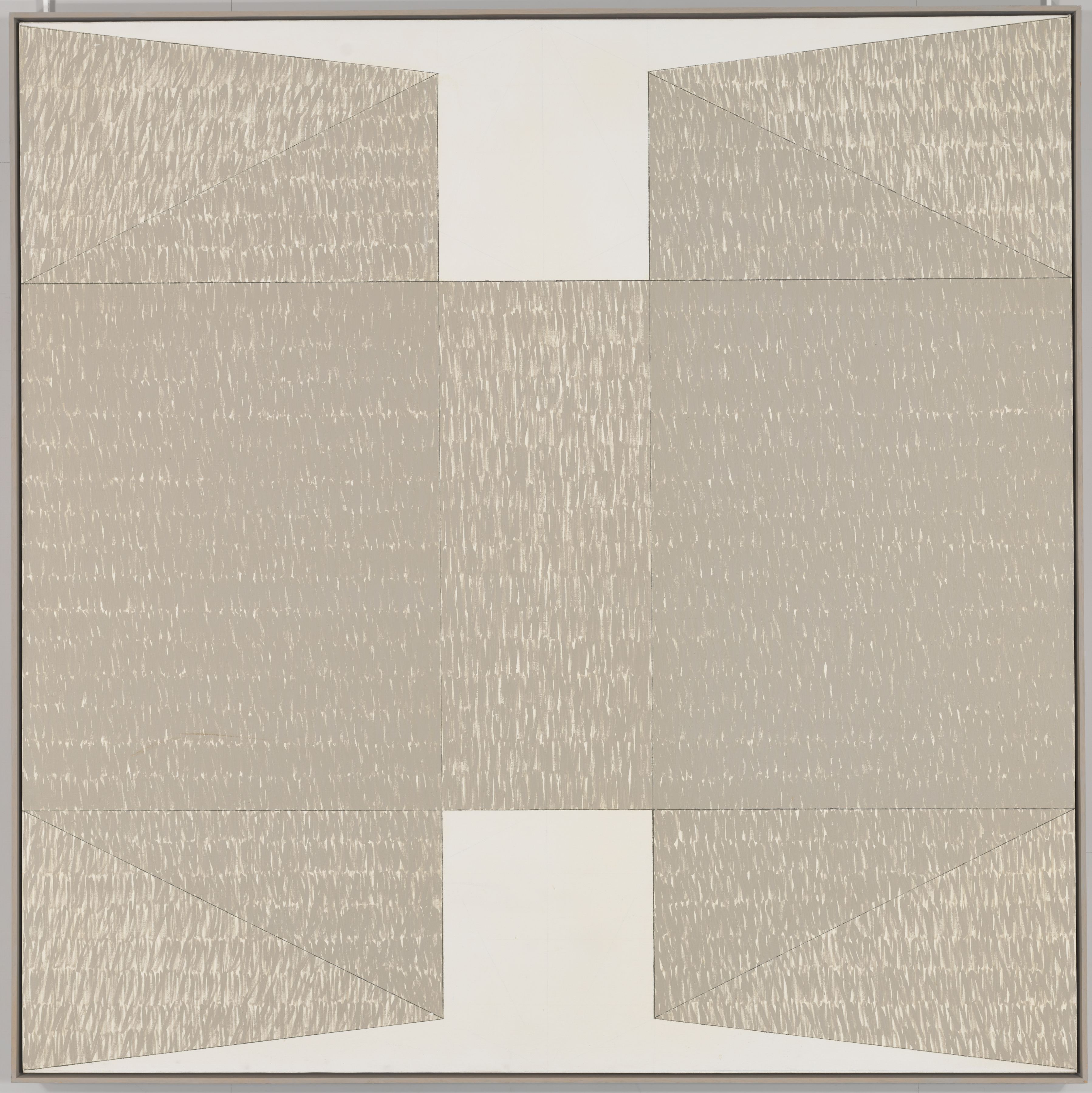 Q3-74 #2, 1974, Oil on canvas