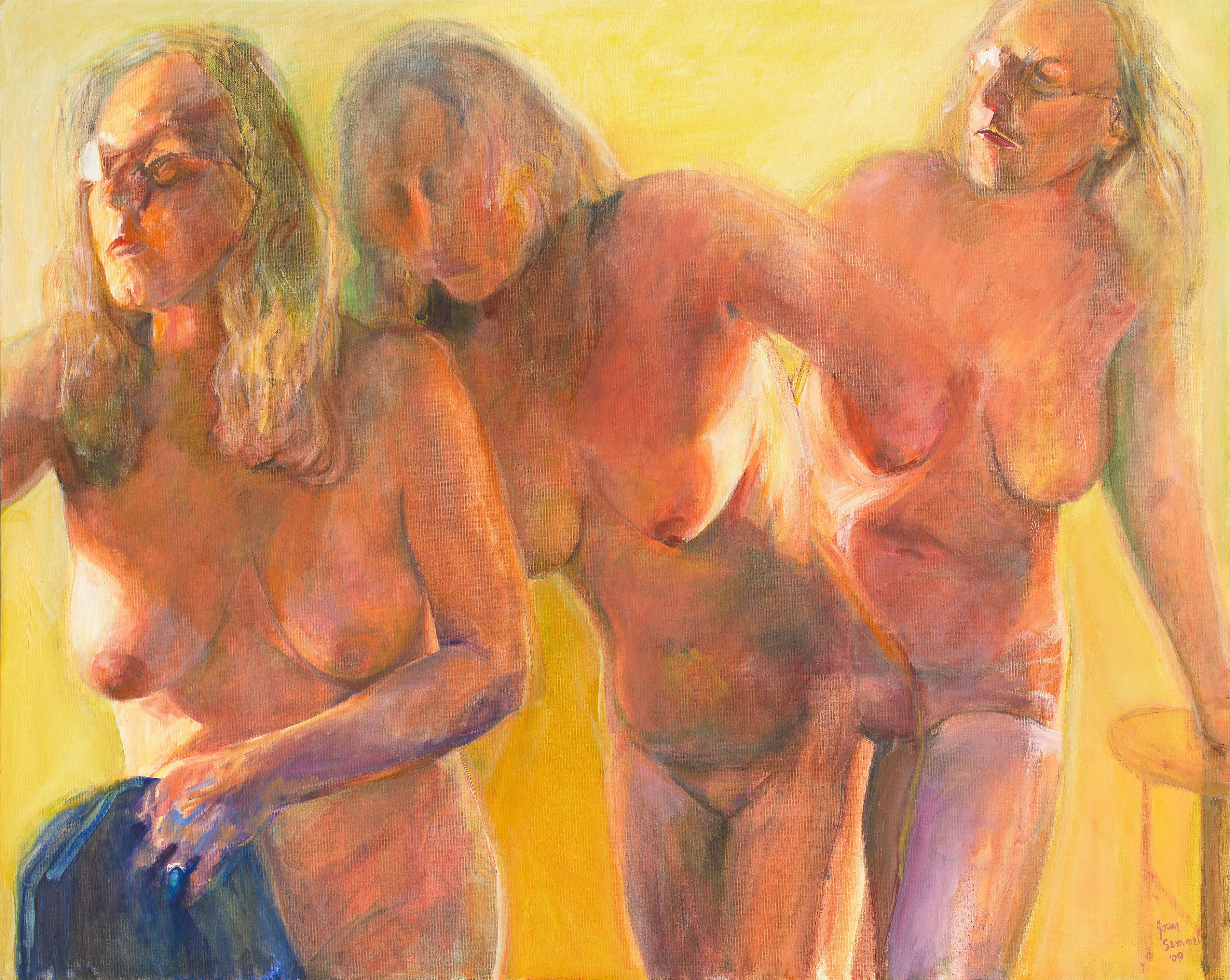 Moving, 2009, Oil On Canvas